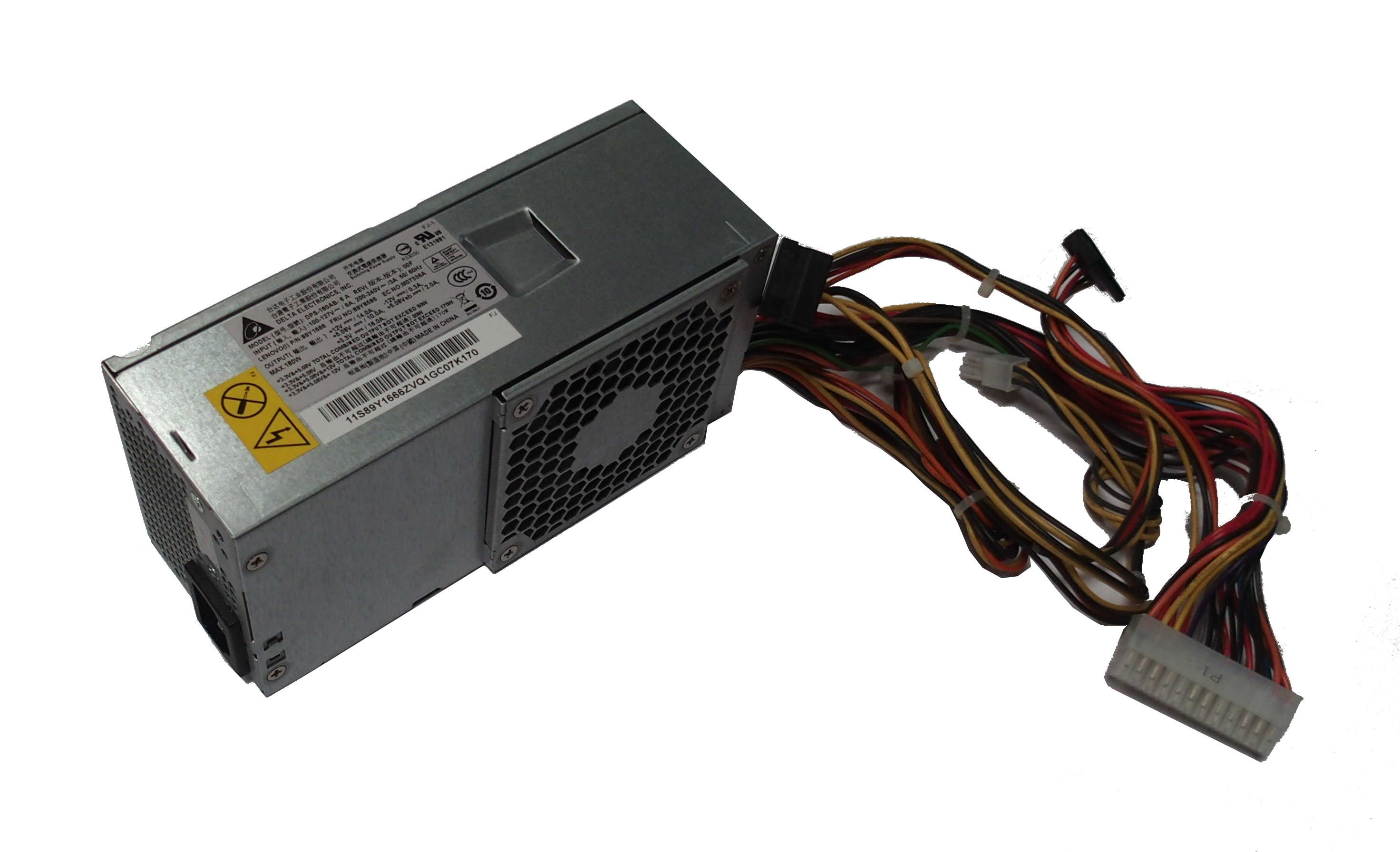 Lenovo 89Y8586 DPS-180AB-6 A 180W 24-Pin Power Supply- 89Y1666