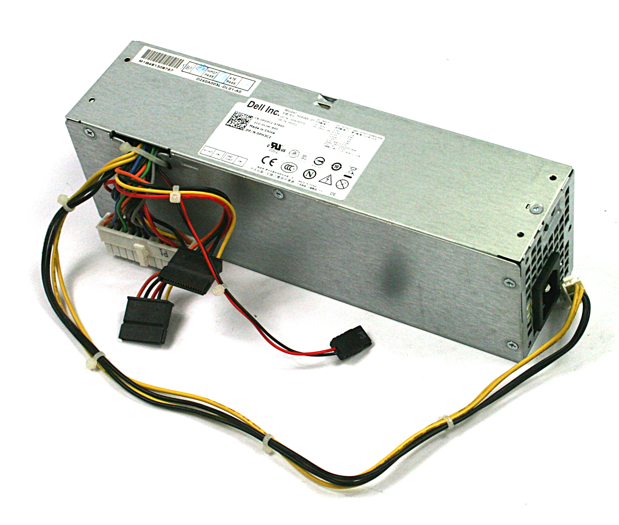 Dell PH3C2 Optiplex 7010  240W Power Supply, Model: H240AS-01