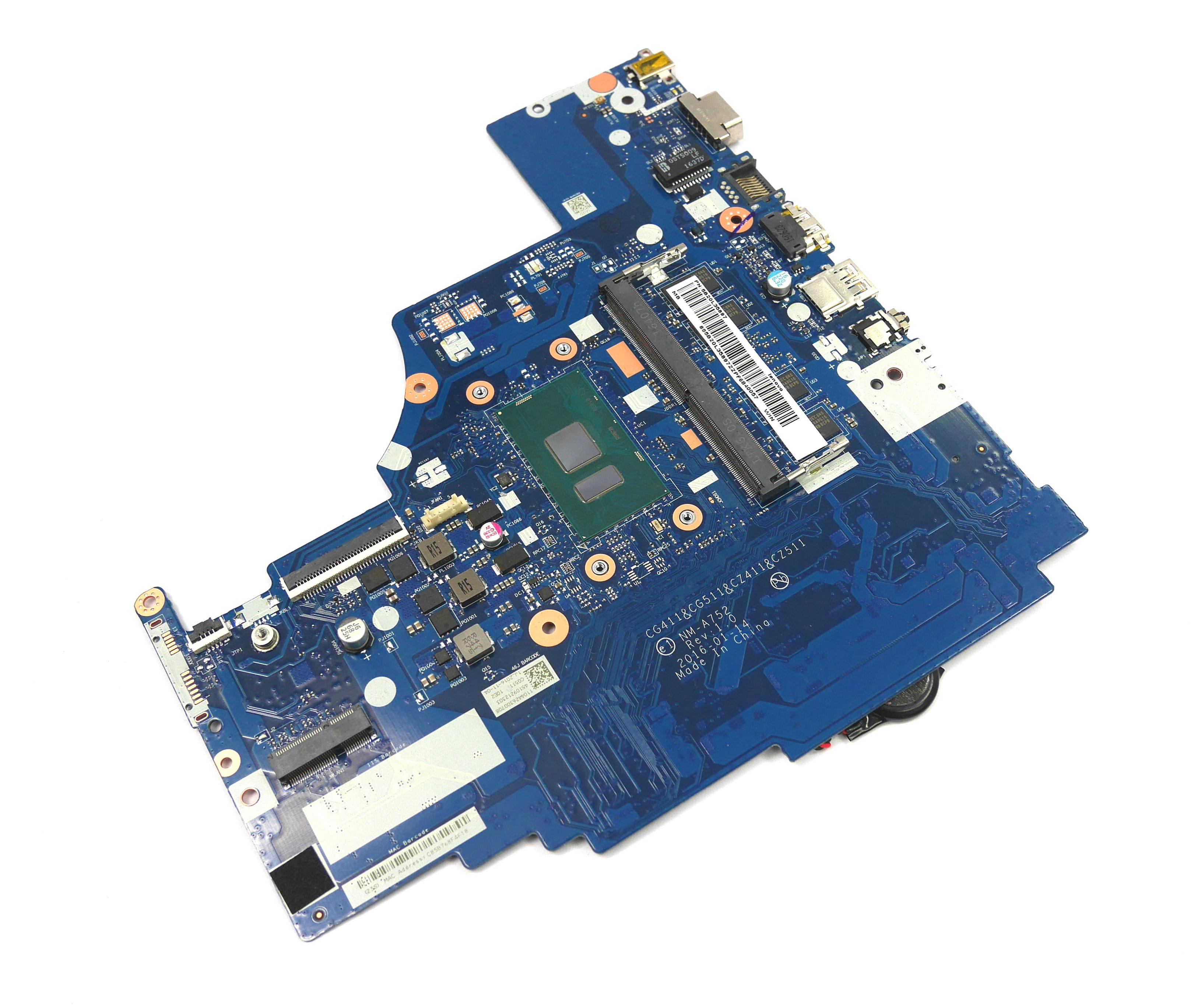 5B20L35897 Lenovo IdeaPad 310 (310-15ISK) Motherboard with Intel i5-6200U CPU