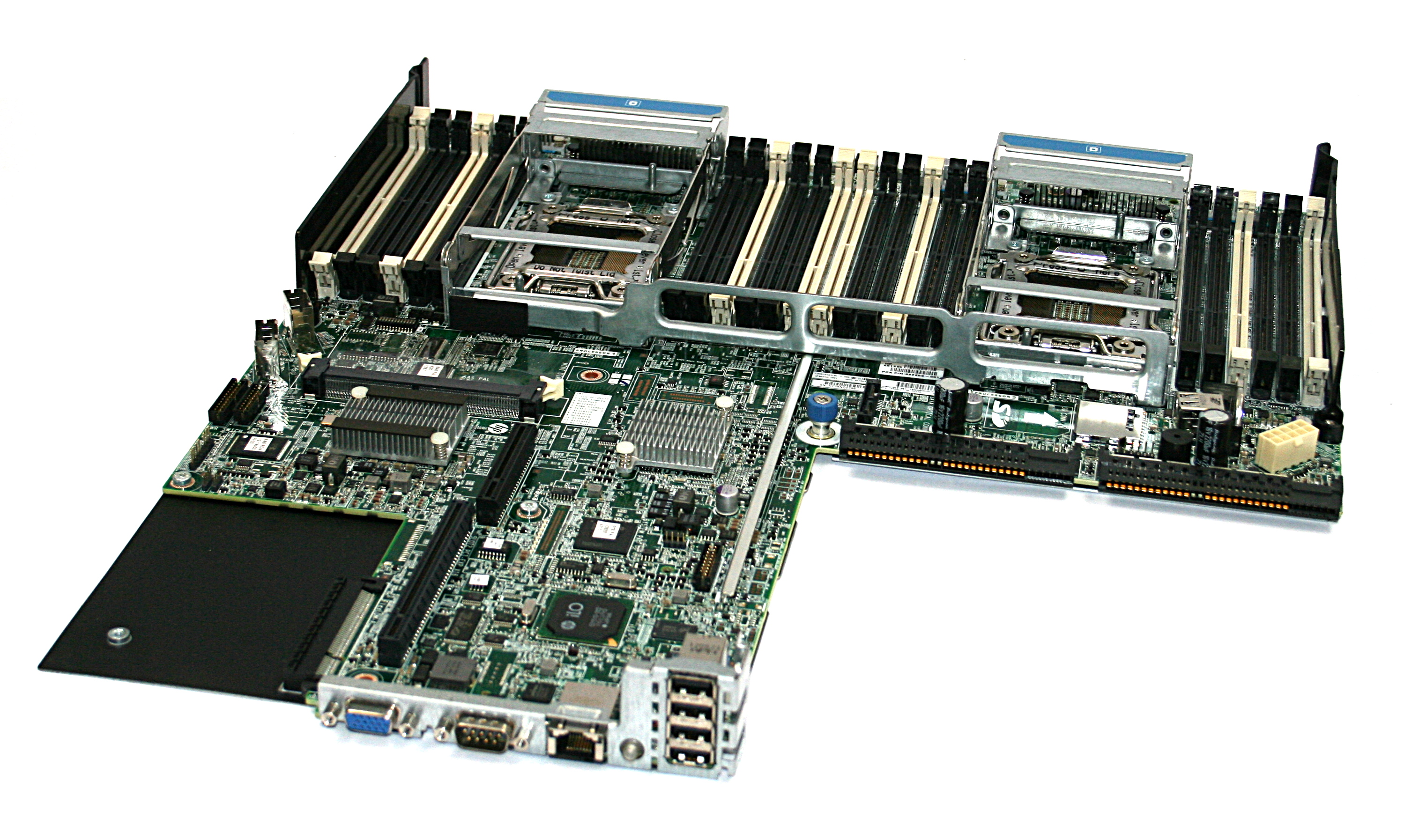 HP 667865-001 Proliant DL360p Gen8 Dual Socket LGA2011 Motherboard With Tray