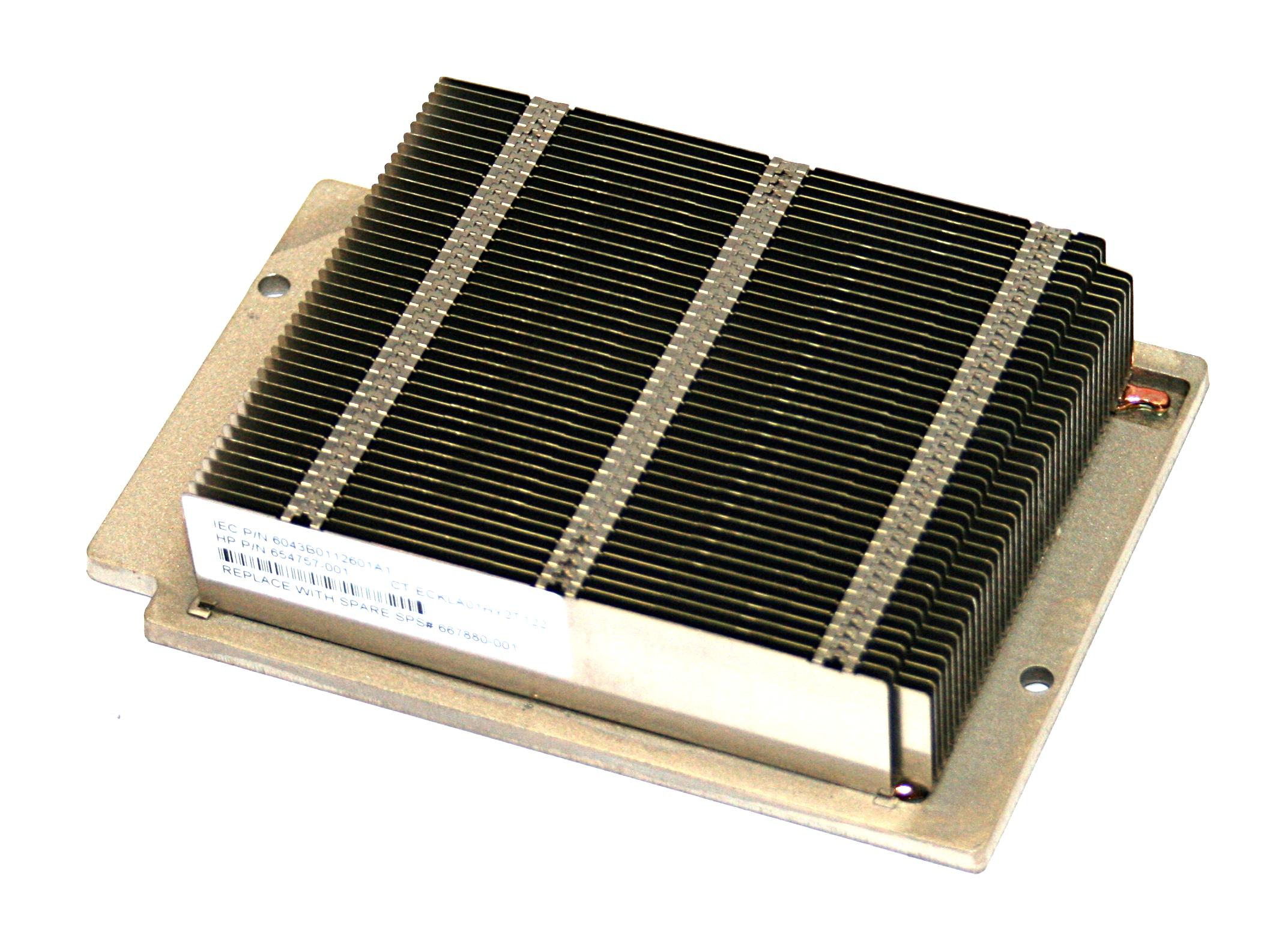 HP 667880-001 ProLiant DL360P Gen8 CPU Heatsink