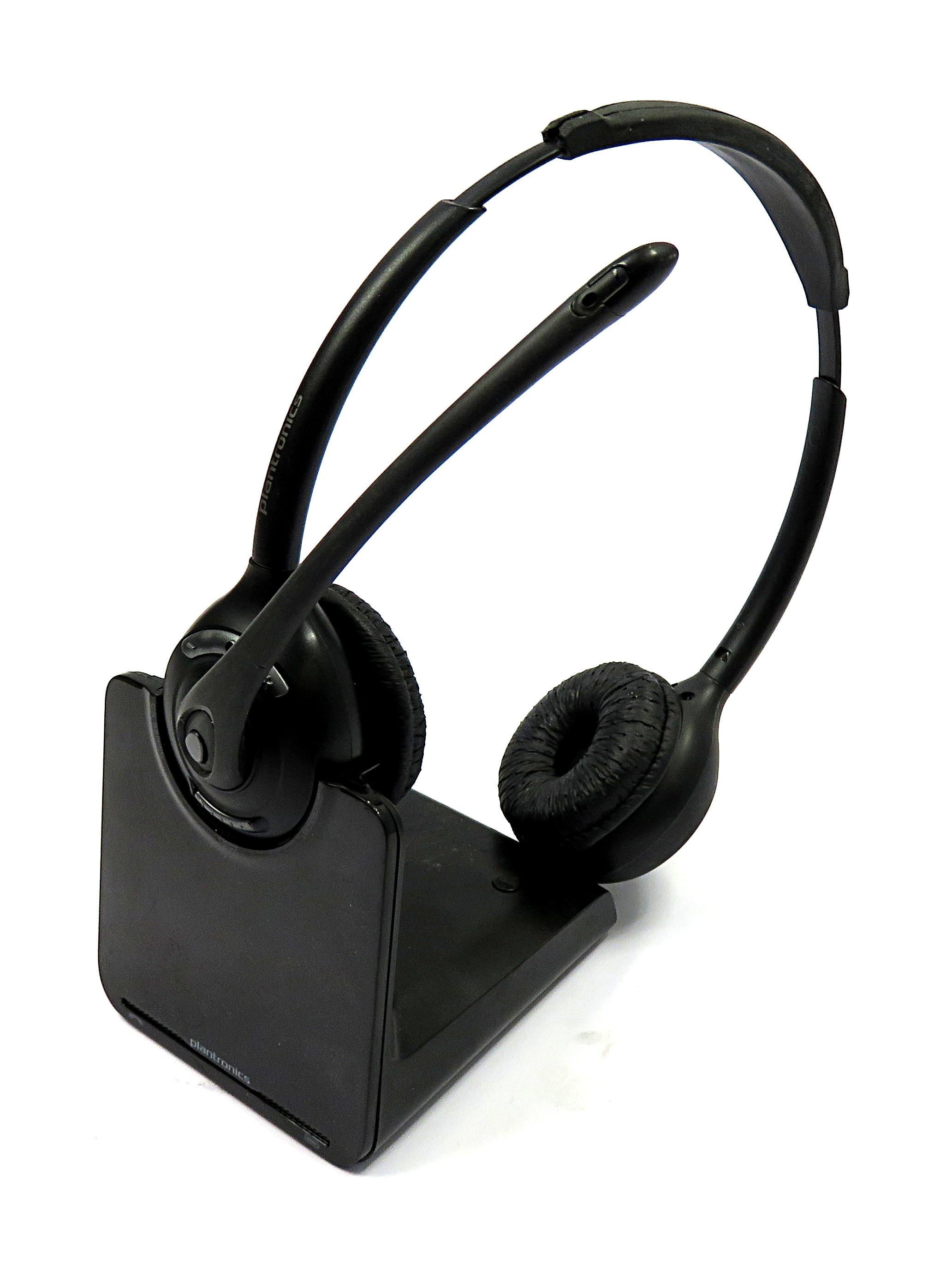 Cs520 wireless Binaural headset manual