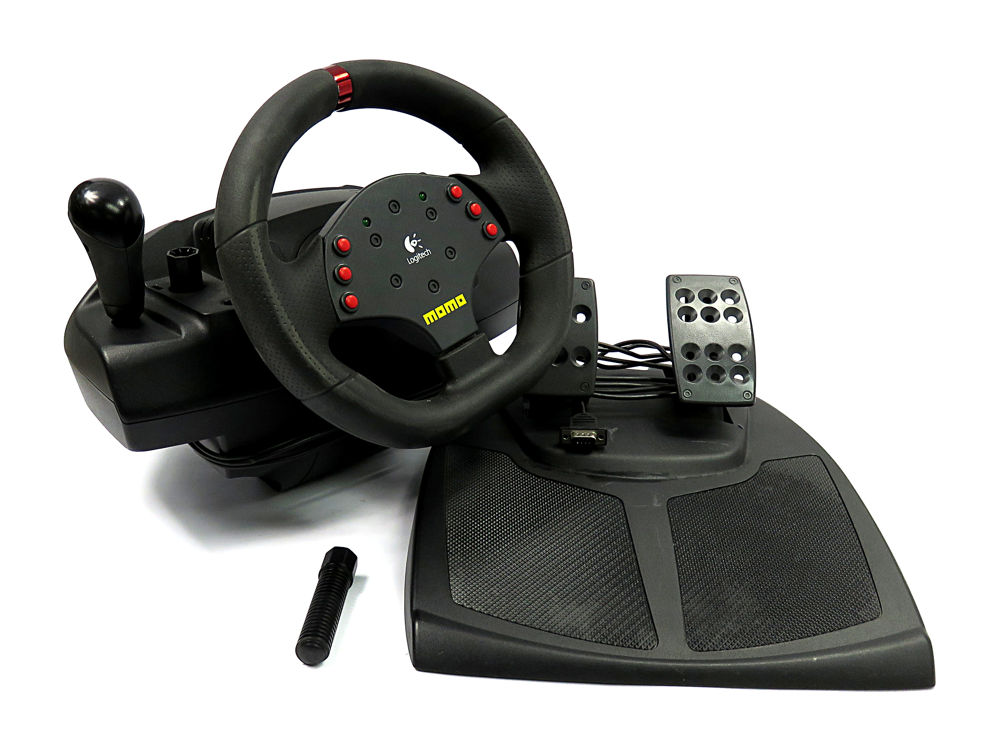 Драйвер logitech momo racing force feedback wheel.