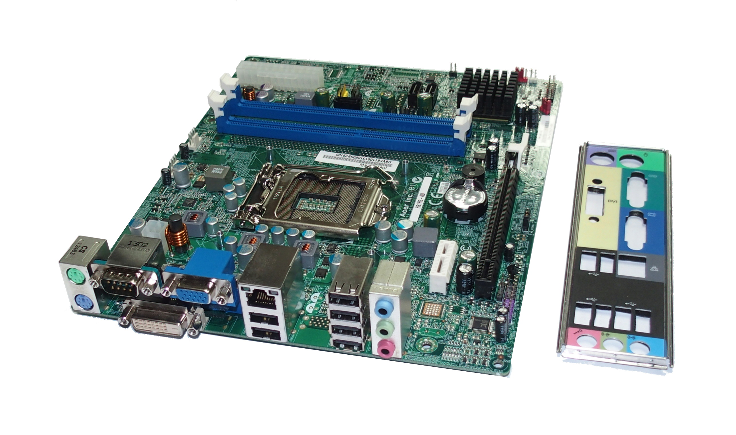 Acer H61H2-AD Version 1.0 Socket LGA1155 Motherboard - DB.VF611.001