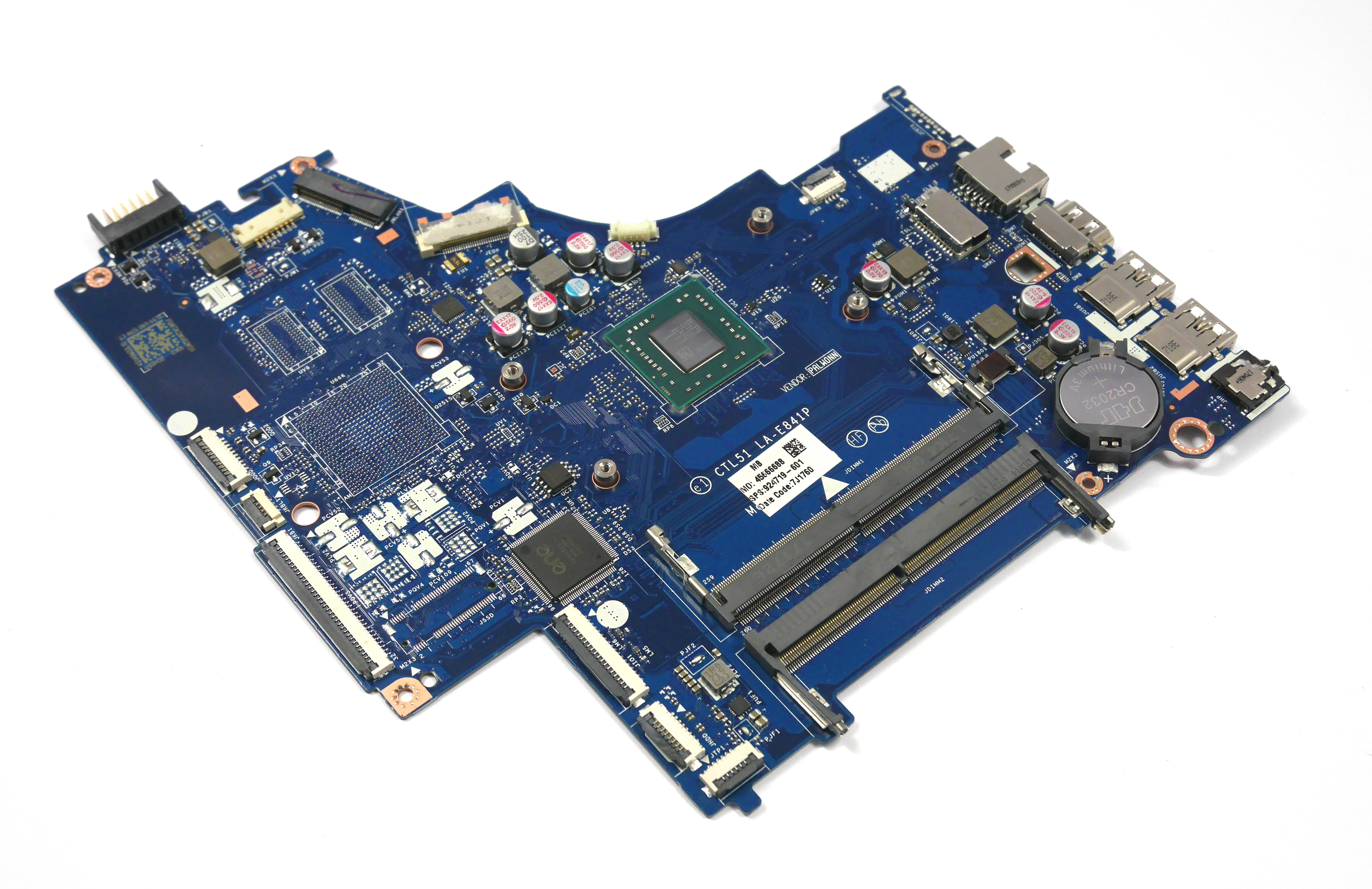 924719-601 HP 15-bw060sa Laptop Motherboard with AMD Dual-Core A9-9420 APU
