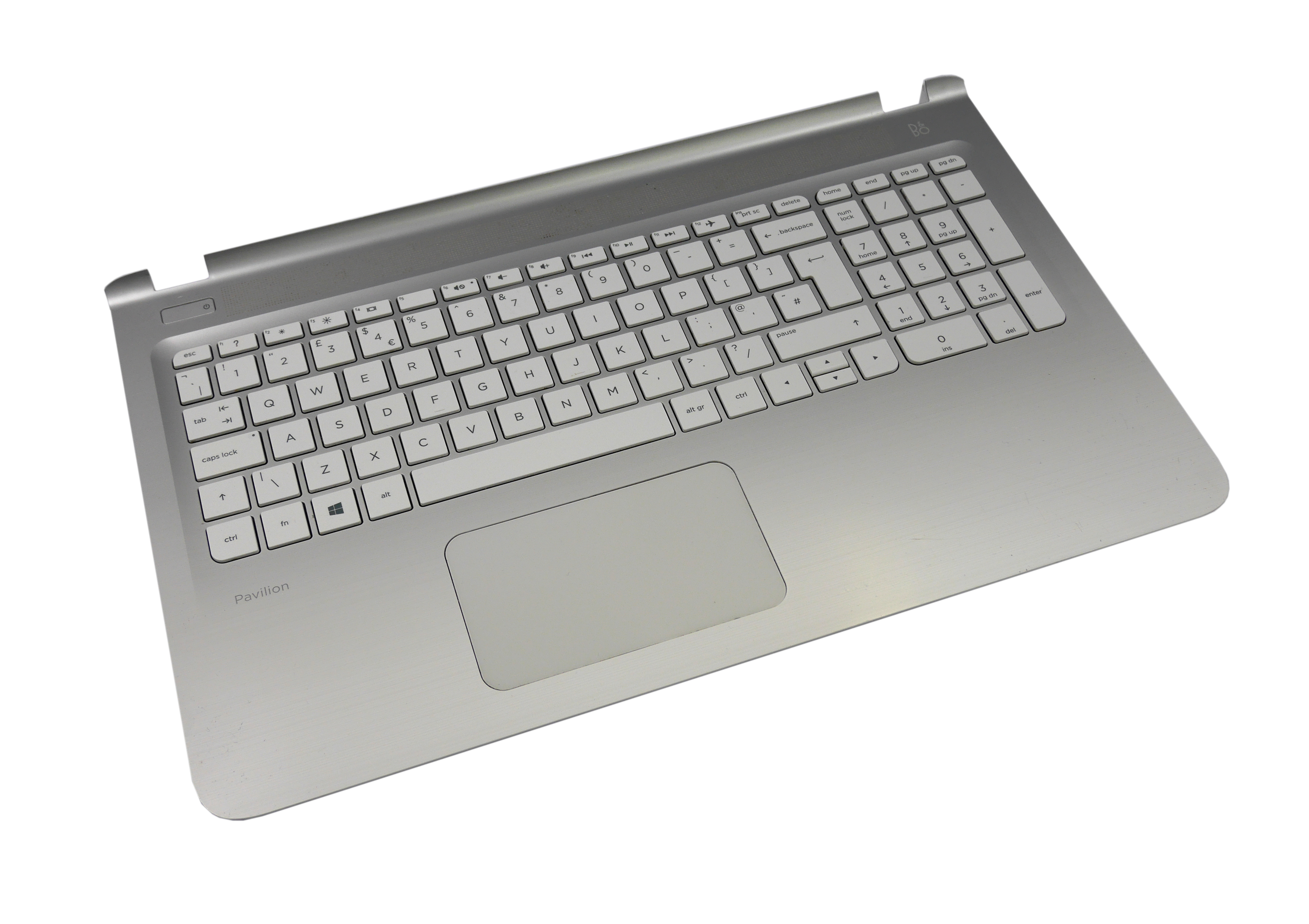 HP Pavilion 15 (15-ab048sa) UK Keyboard / Palmrest / Touchpad Assembly