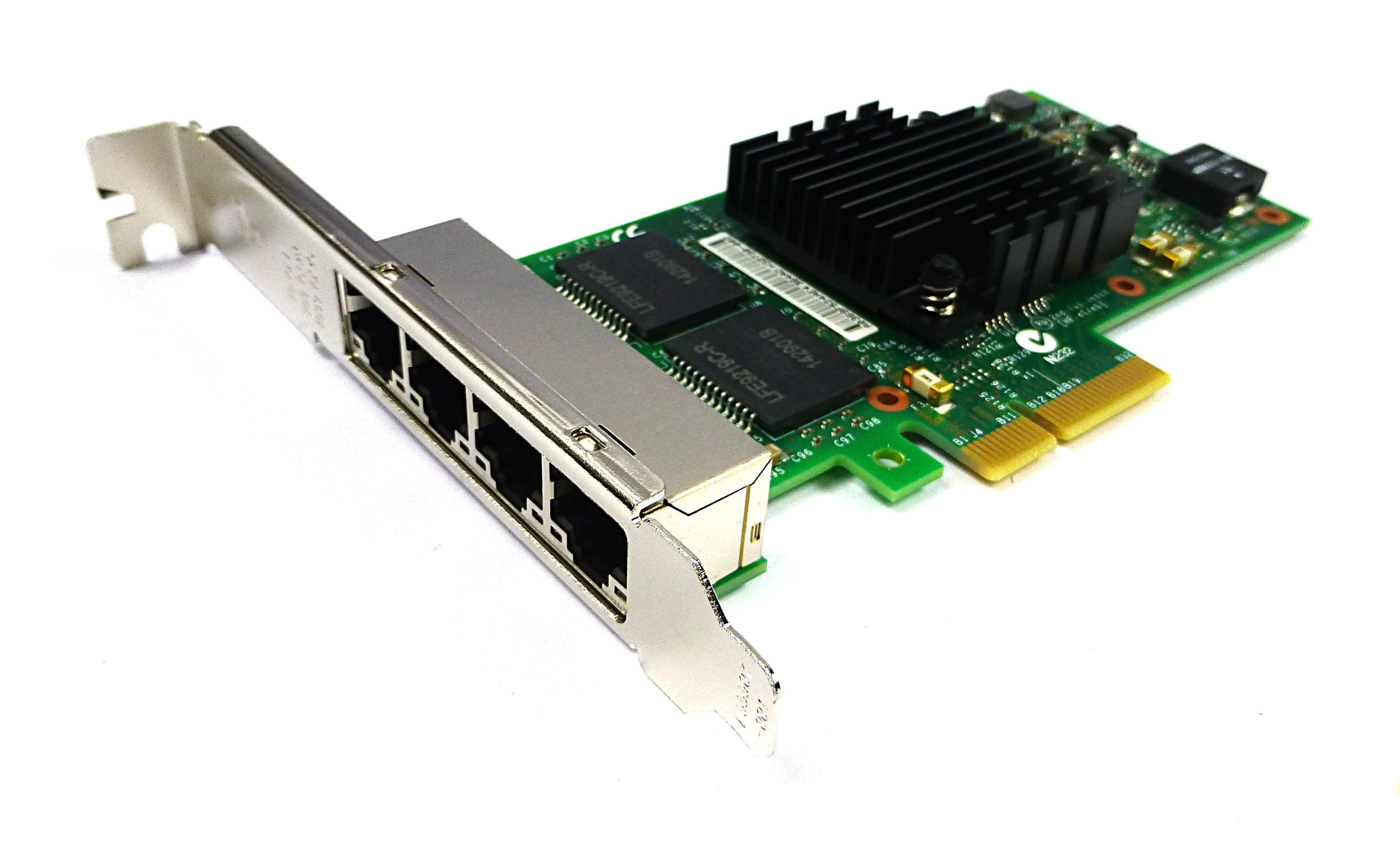 Intel I350T4BLK I350-T4 Quad Port PCIe Ethernet Server Adapter