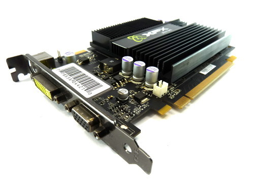 XFX PV-T86J-YAHG GeForce 8500GT 500M 512MB DDR2 TV/DVI/VGA Silent PCIe G.Card
