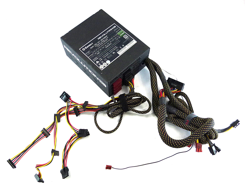 Enermax Revolution85+ ERV1050EWT 1050W ATX Power Supply PSU Incomplete