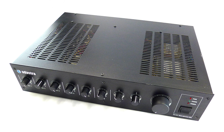 Adastra 952996 Mixer Amplifier 6 Channel 120w Amplifiers Audio