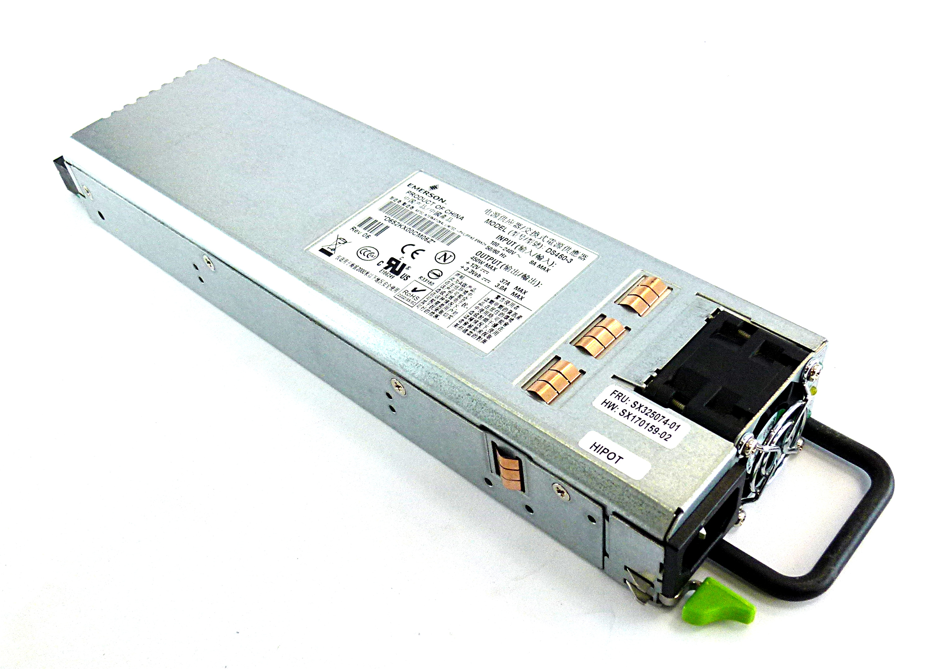 Emerson DS450-3 450W Power Supply Module For Mercury Server