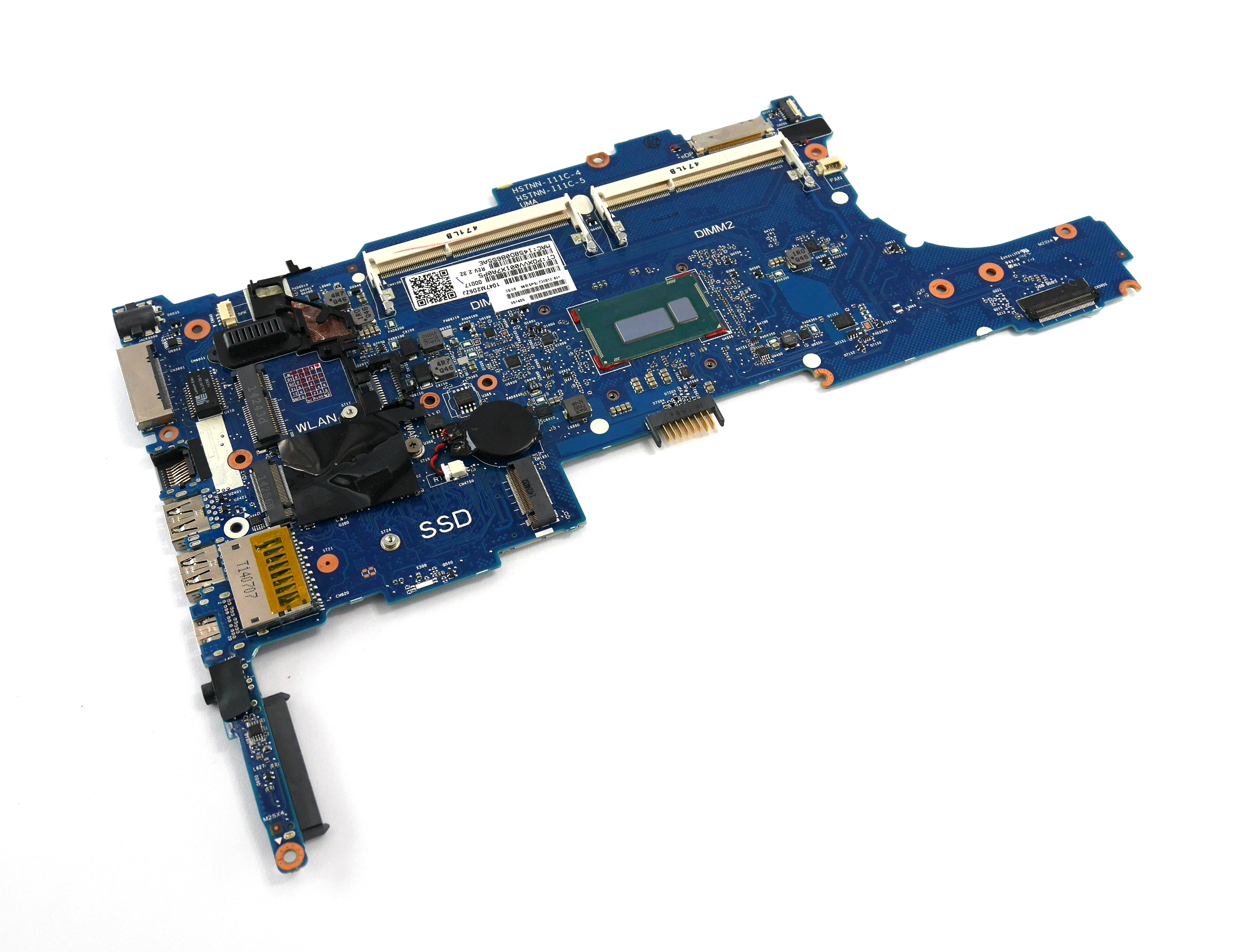 HP 730810-601 EliteBook 840 Motherboard with Intel Core i7-4600U Processor