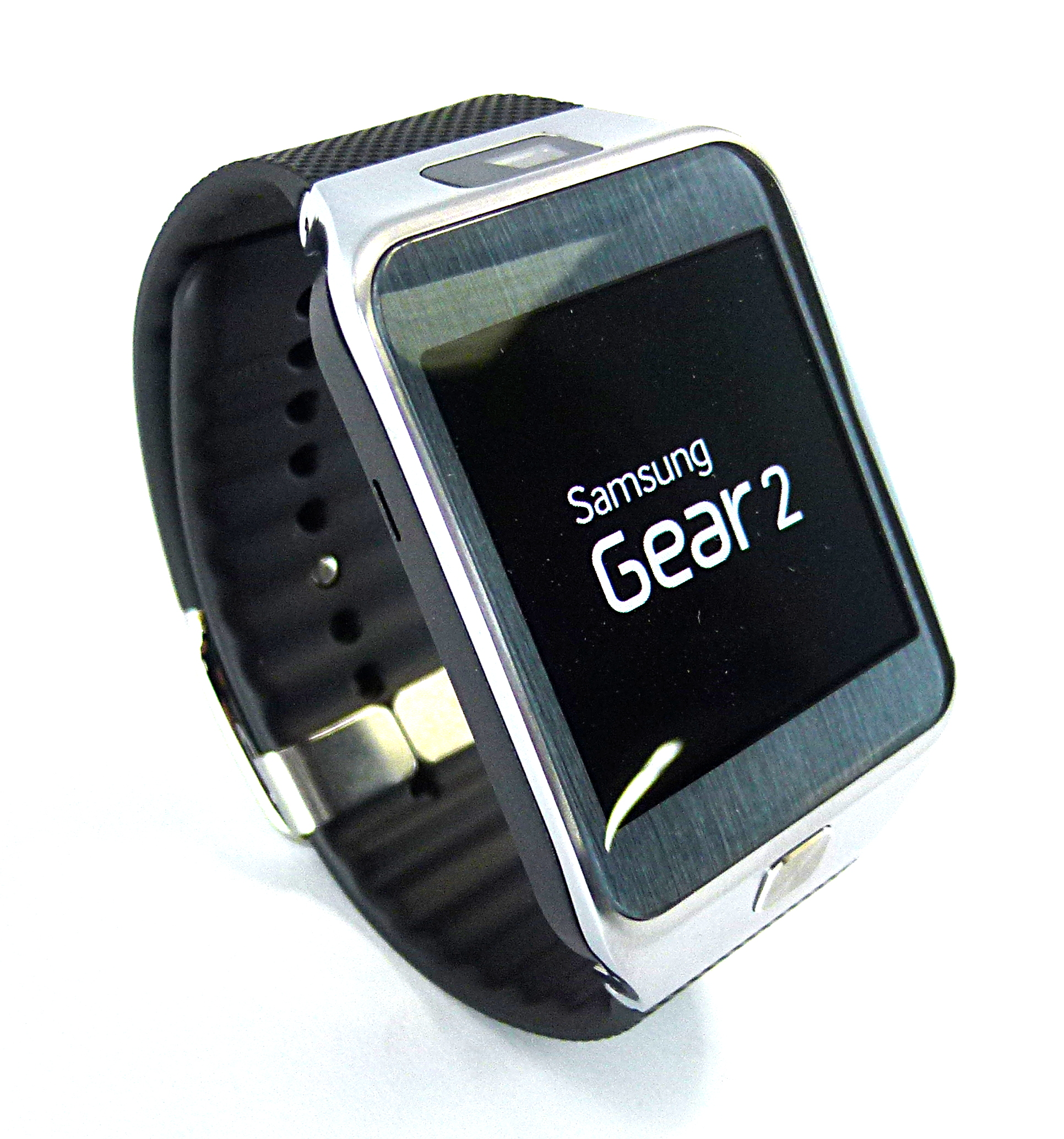 Samsung SM-R380 Gear 2 Smart Watch in Charcoal Black
