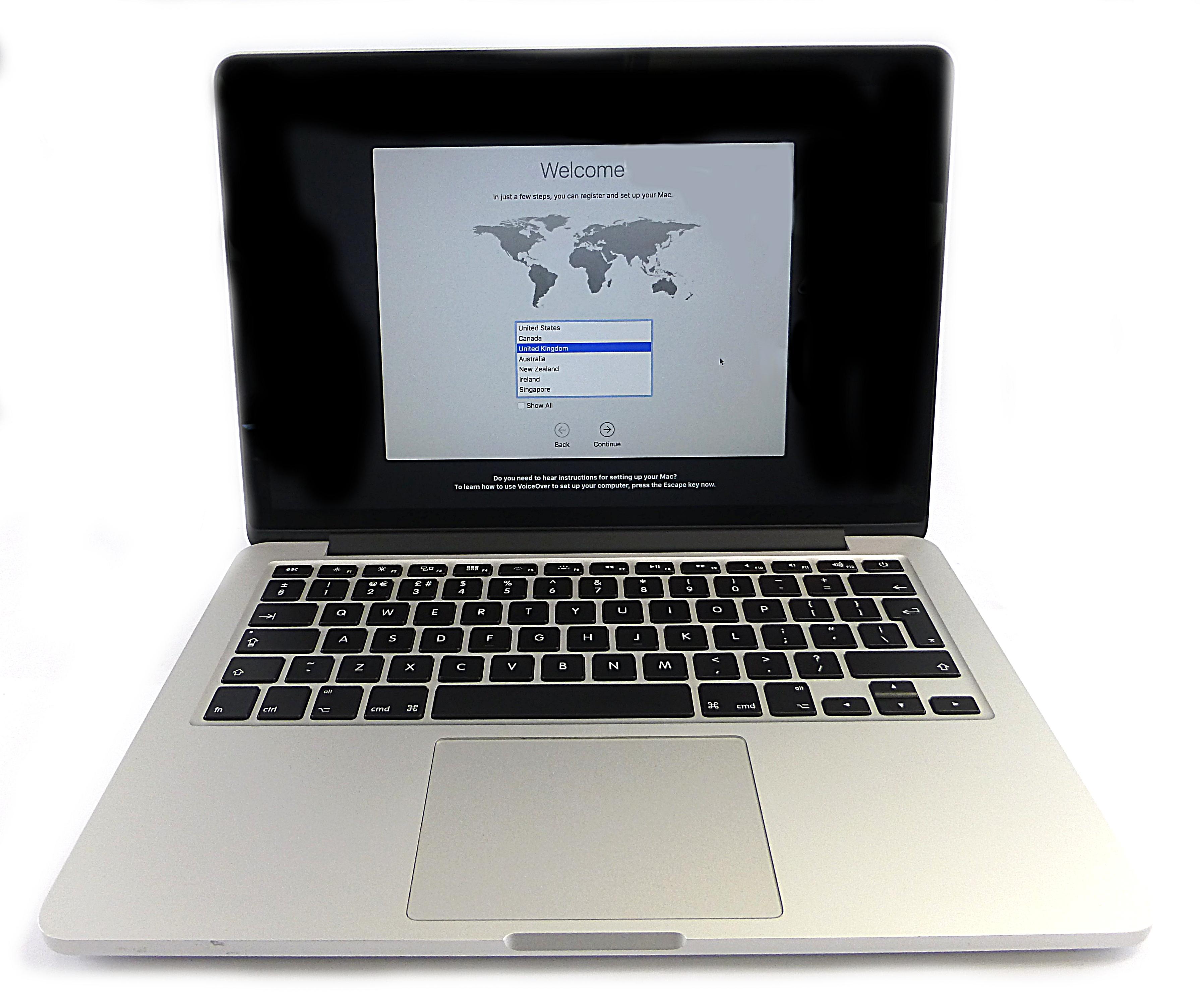 "Apple MacBook Pro Retina 13"" 2.7GHz i5 8Gb 128Gb SSD Early"