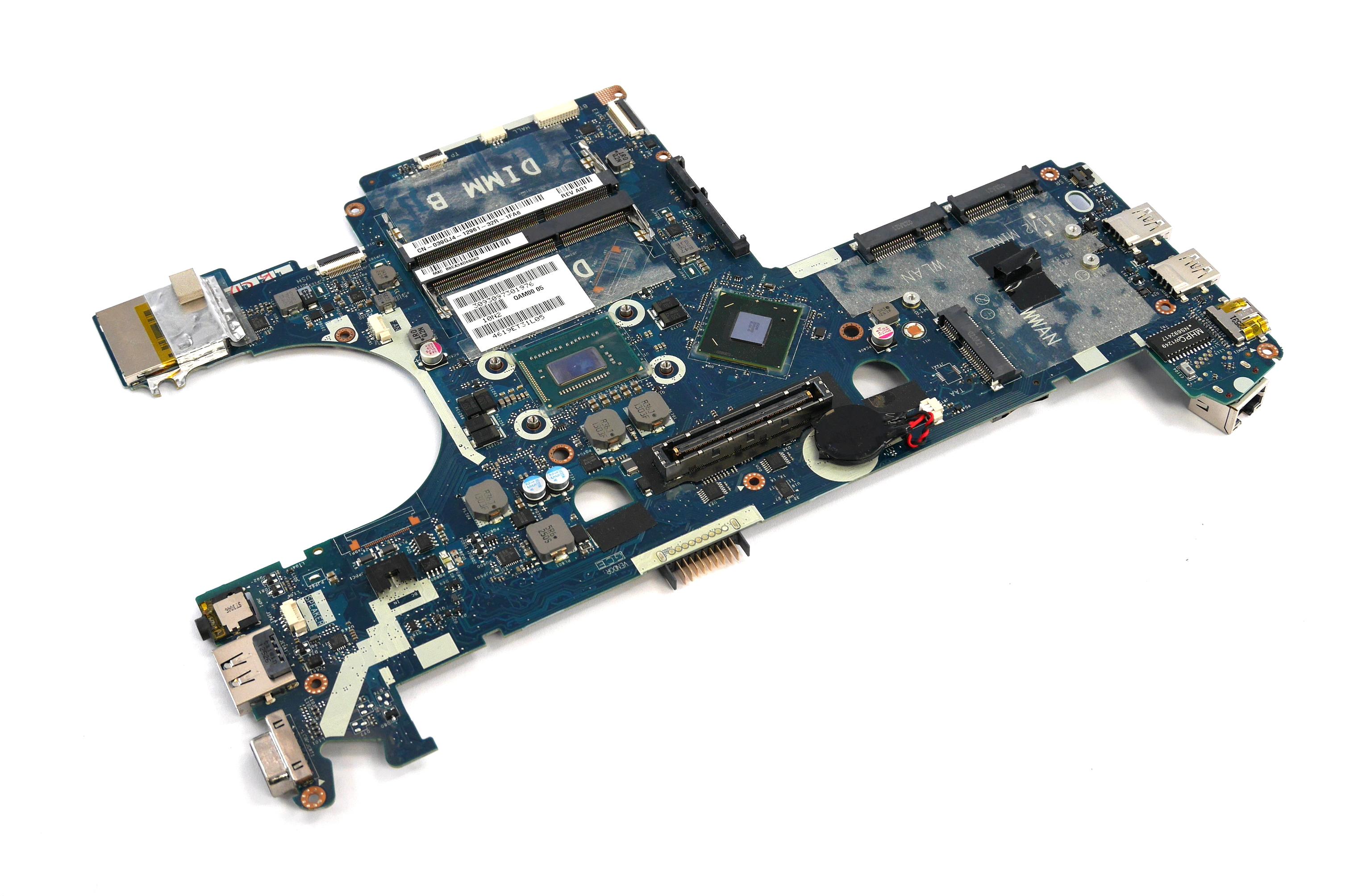 Dell 39GJ4 Latitude E6230 Motherboard with BGA Intel Core i5-3320M Processor