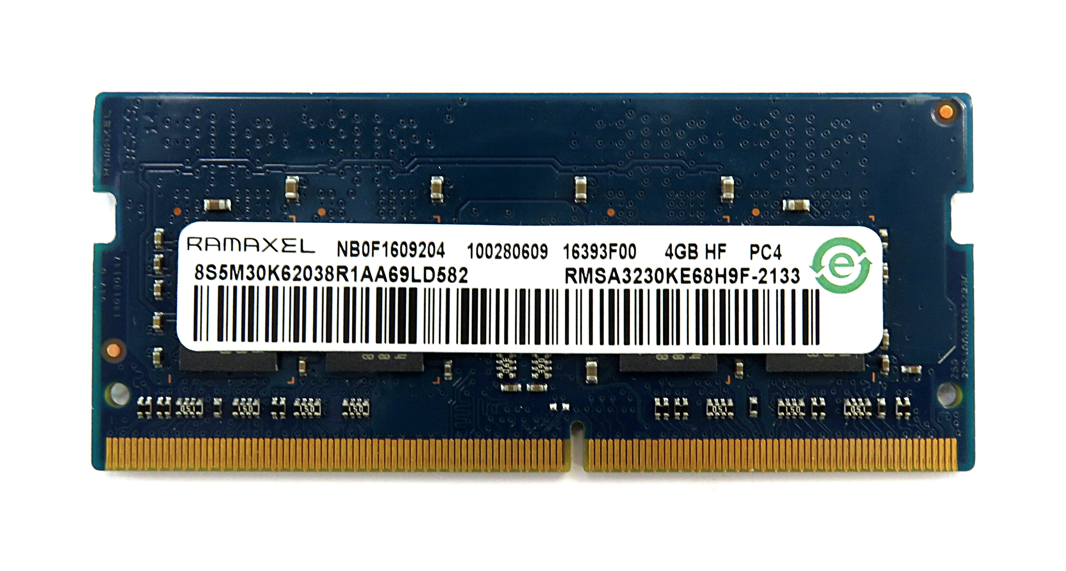 Ramaxel RMSA3230KE68H9F-2133 4GB PC4-17000 DDR4-2133 SODIMM
