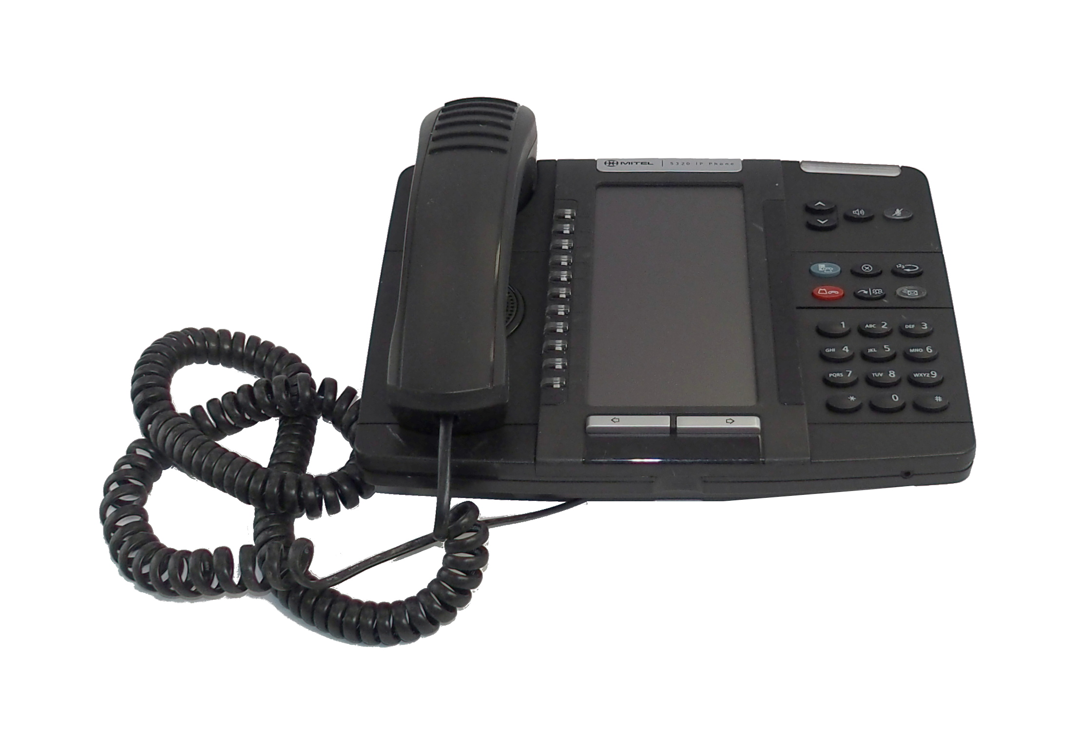 Mitel 50006191 5320 PoE IP Phone- Black - 56009501A
