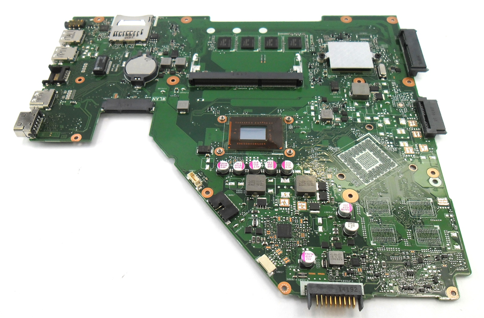 60NB00U0-MBH010 Asus X550CA Motherboard with Intel SR0N9 1.8GHz i3-3217U CPU