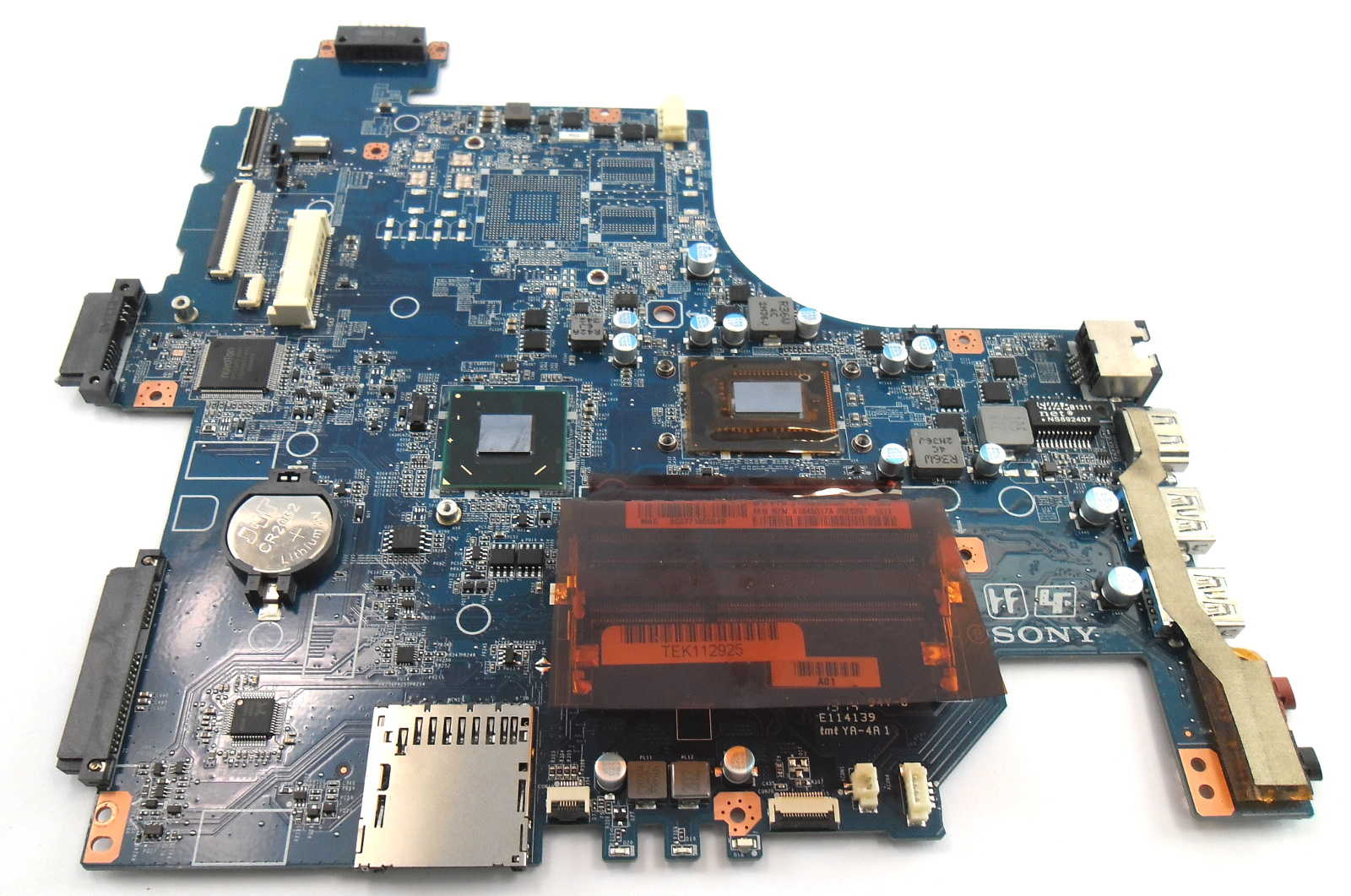 Sony Vaio SVF152 Laptop Motherboard A1945017A 31HK9MB0090 /w Core i3-3227U CPU