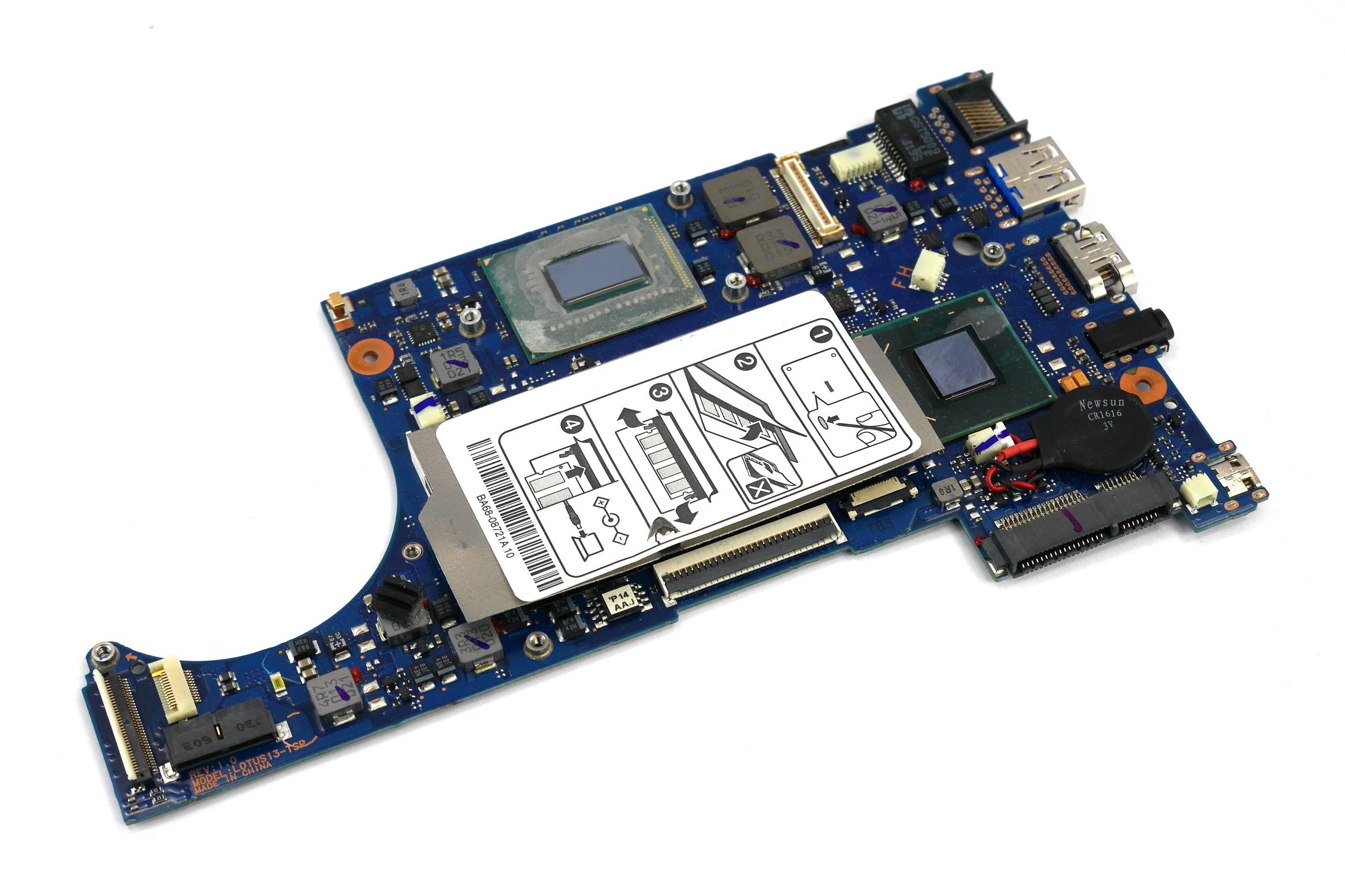 Samsung BA92-10444 530U NP530U3C Motherboard with Intel Core i5-3317U CPU
