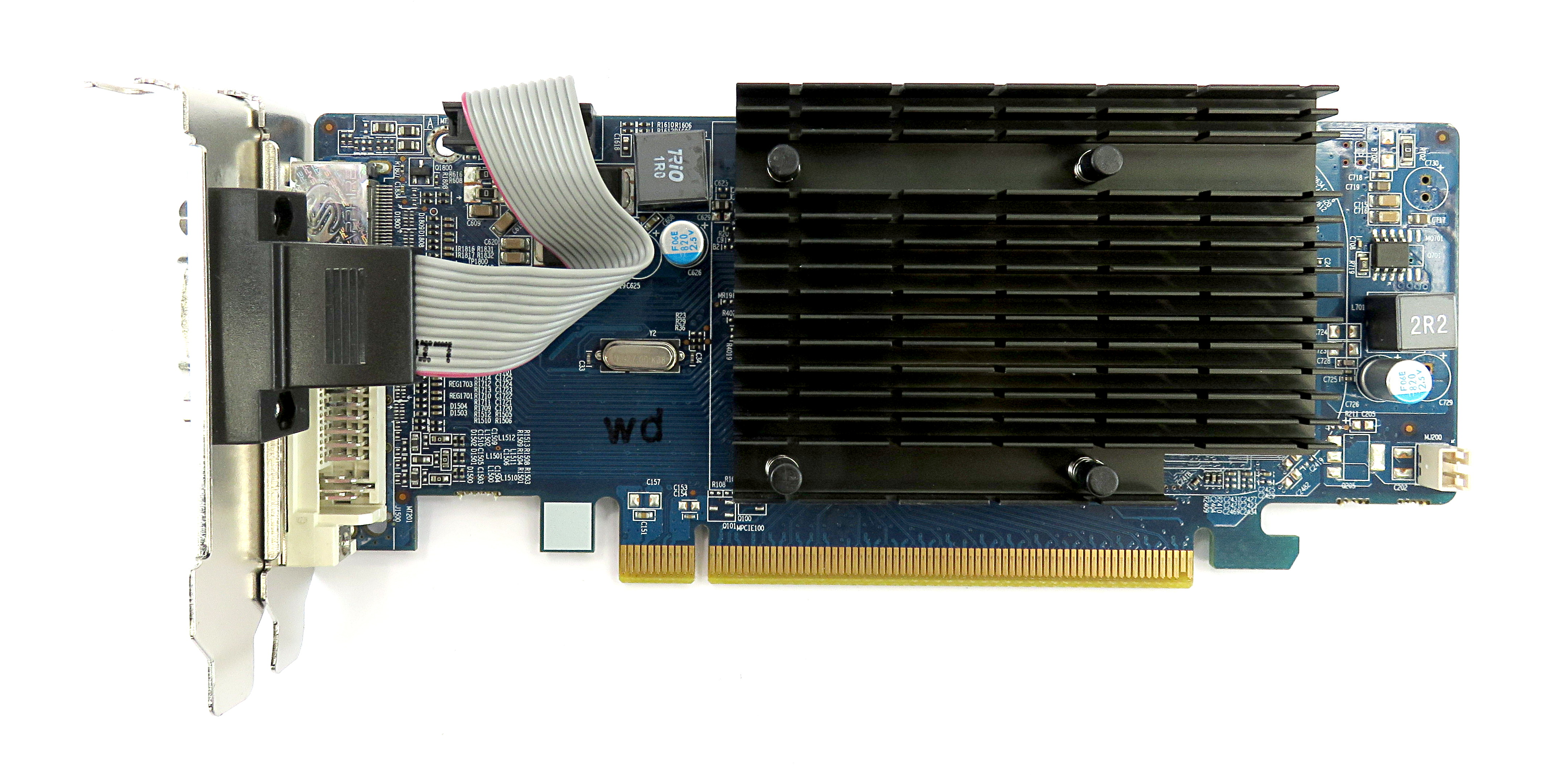 299-1E172-300SA Sapphire HD4350 512MB H/D/V Low-Profile Silent Graphics Card