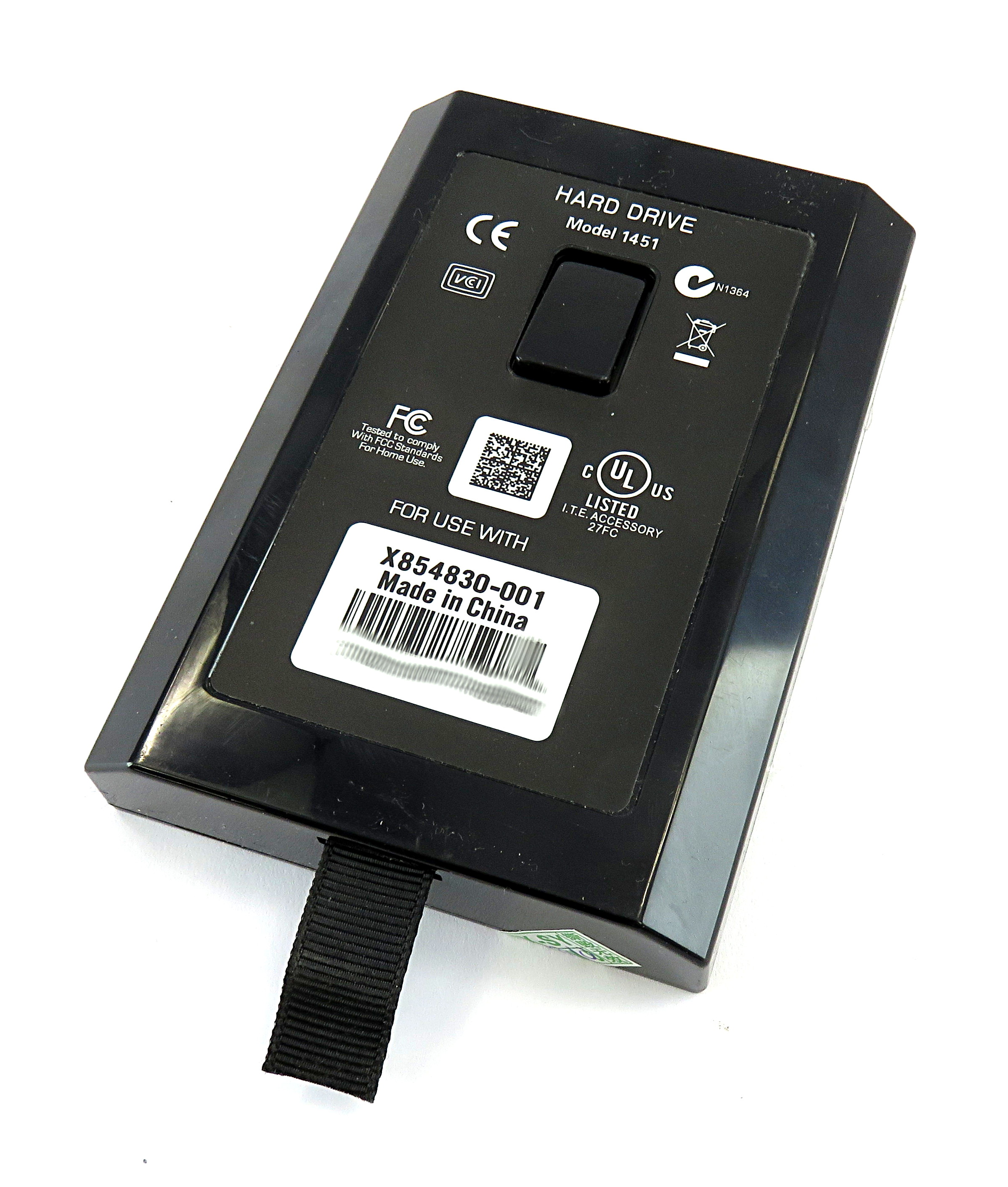 Microsoft X854830-001 250GB Slim Hard Drive Type 1451 f/ XBOX 360
