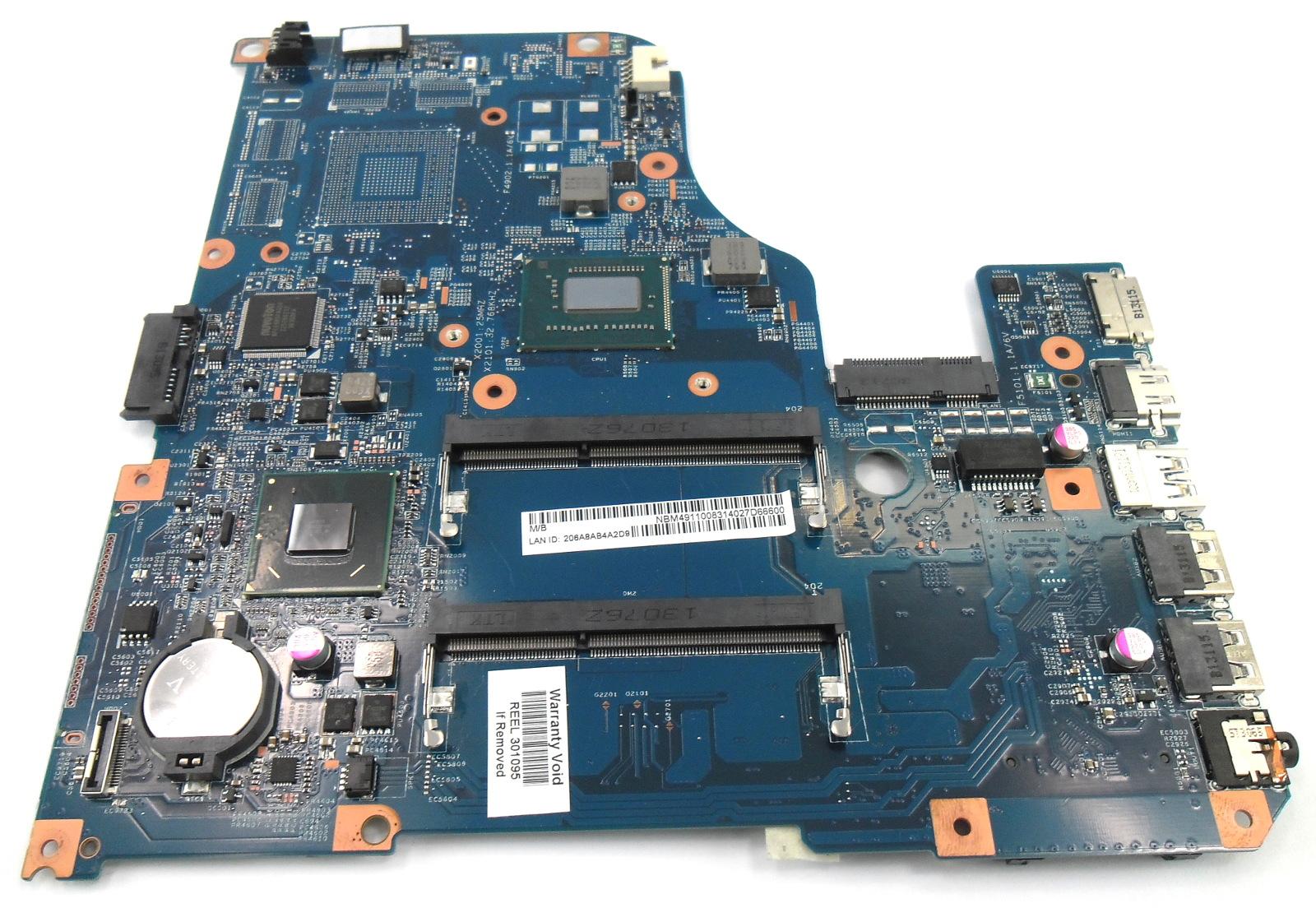 Acer Aspire V5-571 Laptop Motherboard NB.M4911.008 48.4TU05.04M /w Core i3-3227U
