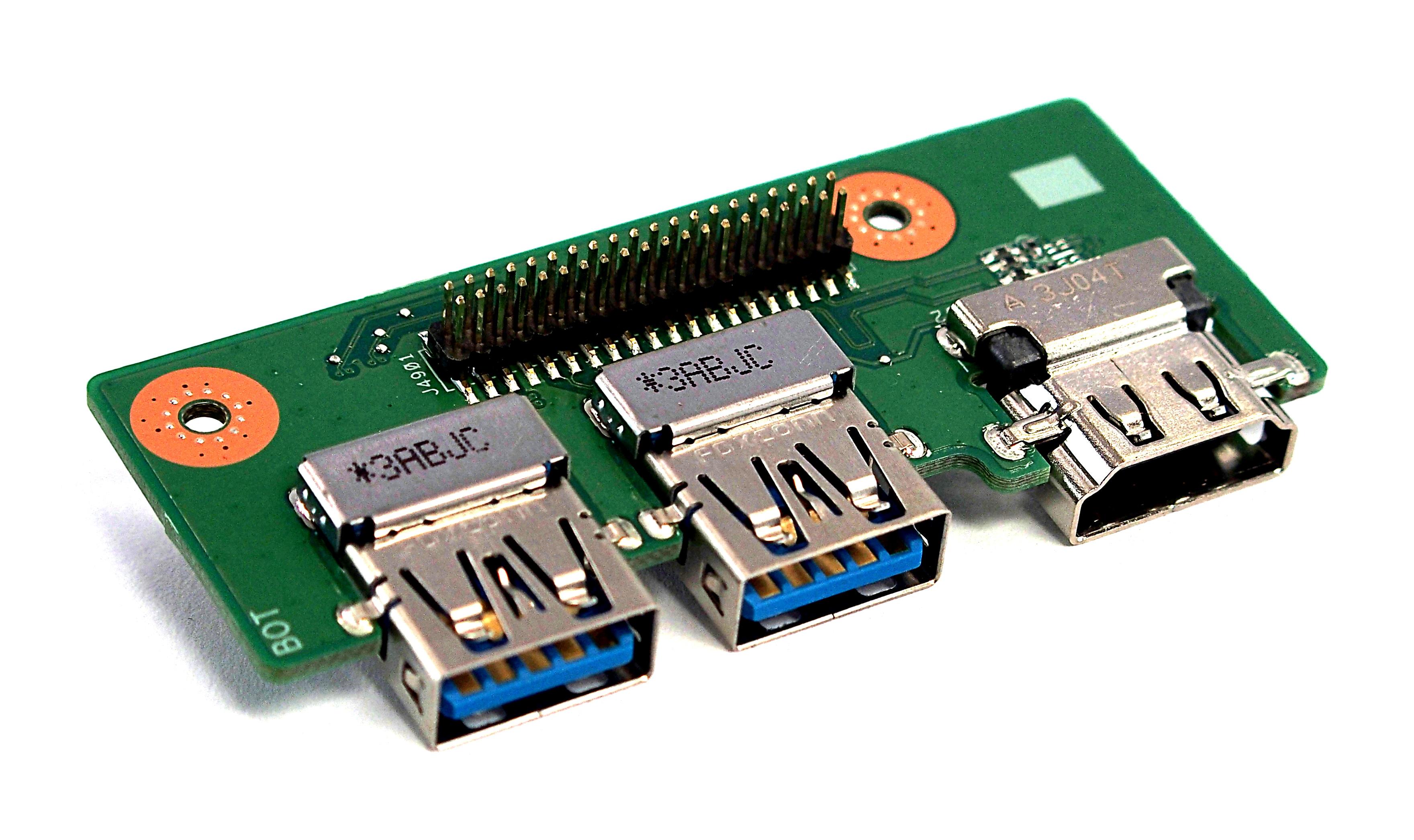 ASUS N56VM USB3.0 HDMI I/O Board 60-N9JUS1000-F02