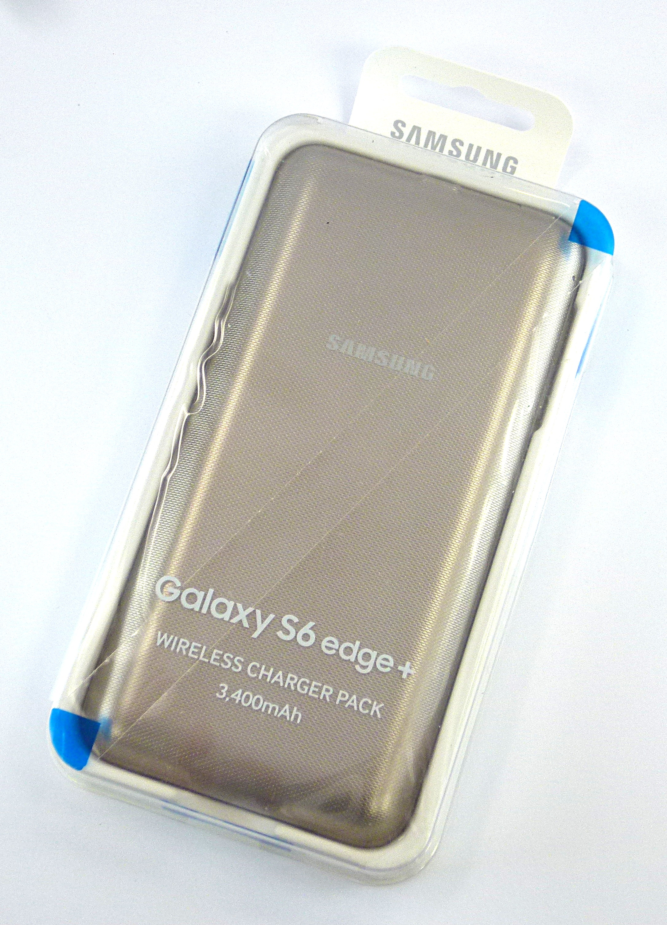 Genuine Samsung EP-TG928 Galaxy S6 Edge + Wireless Battery Charger Pack Gold
