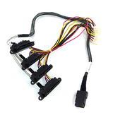 HP 616572-001 Proliant Microserver Mini SAS Backplane Cable 624881-001