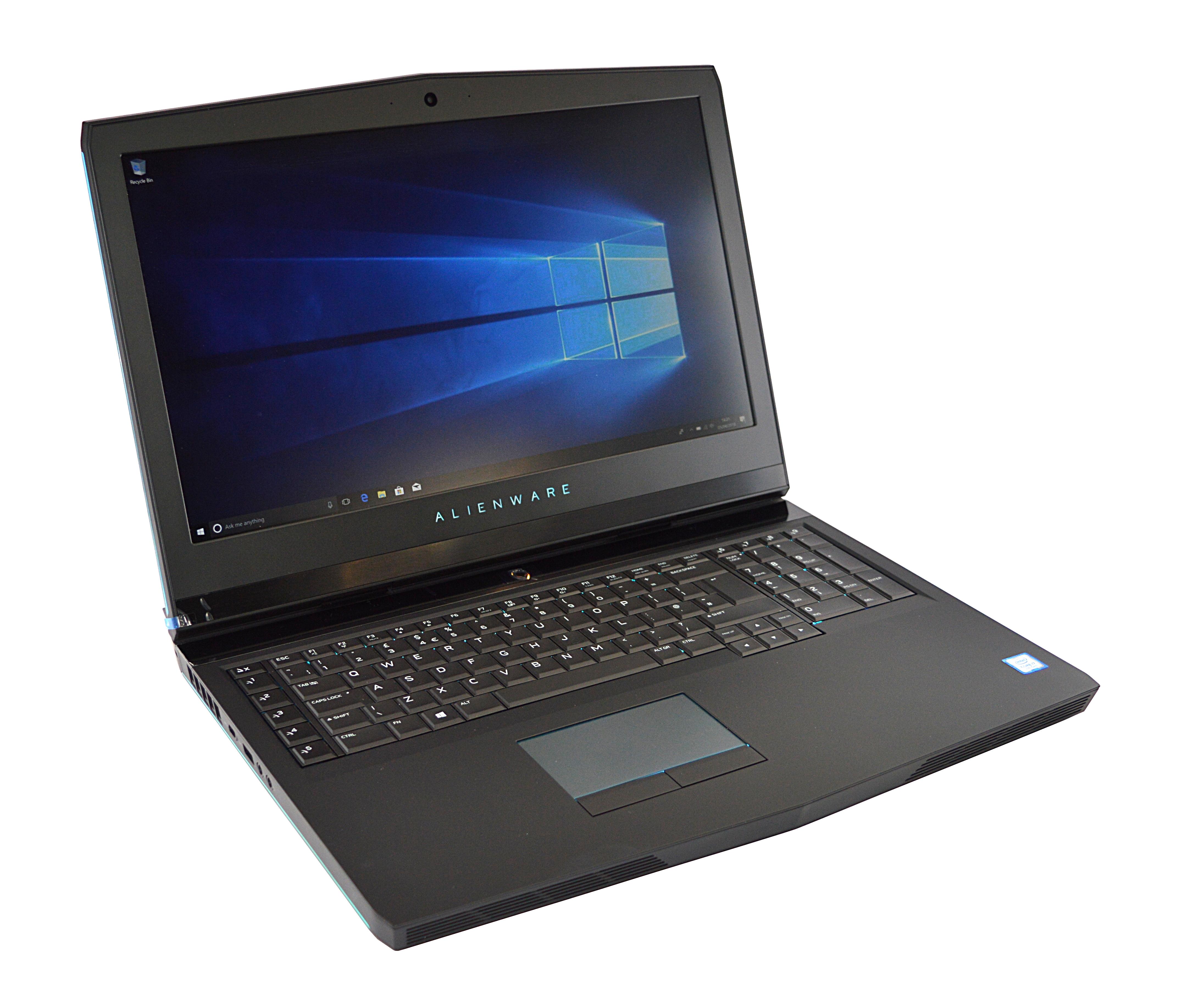 Dell Alienware 17 R4 Laptop Core i7-7820HK 16GB RAM 256GB SSD 2TB HDD Windows 10