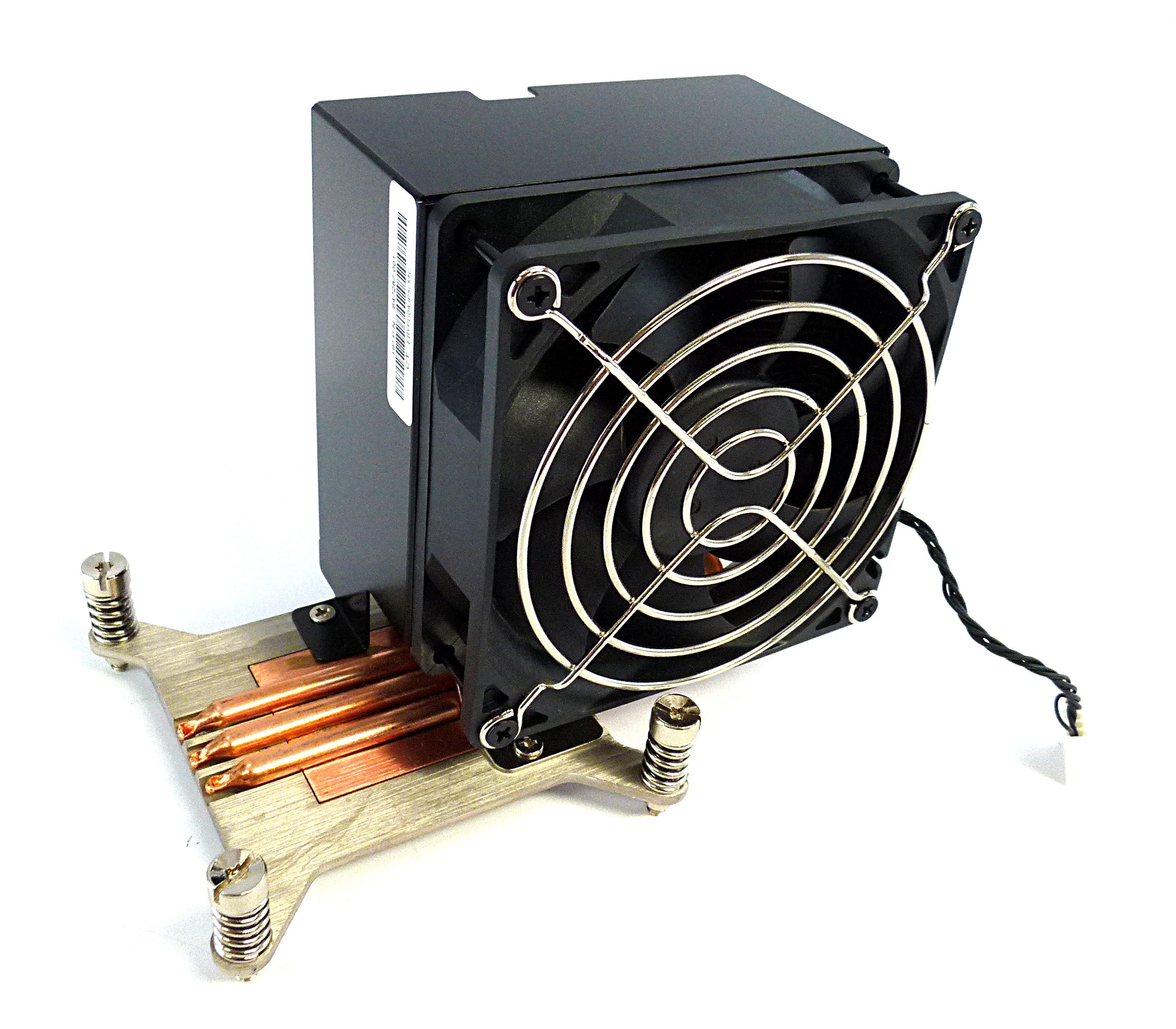 HP 647287-001 Z420 Z620 Workstation CPU Heatsink & Fan Assembly