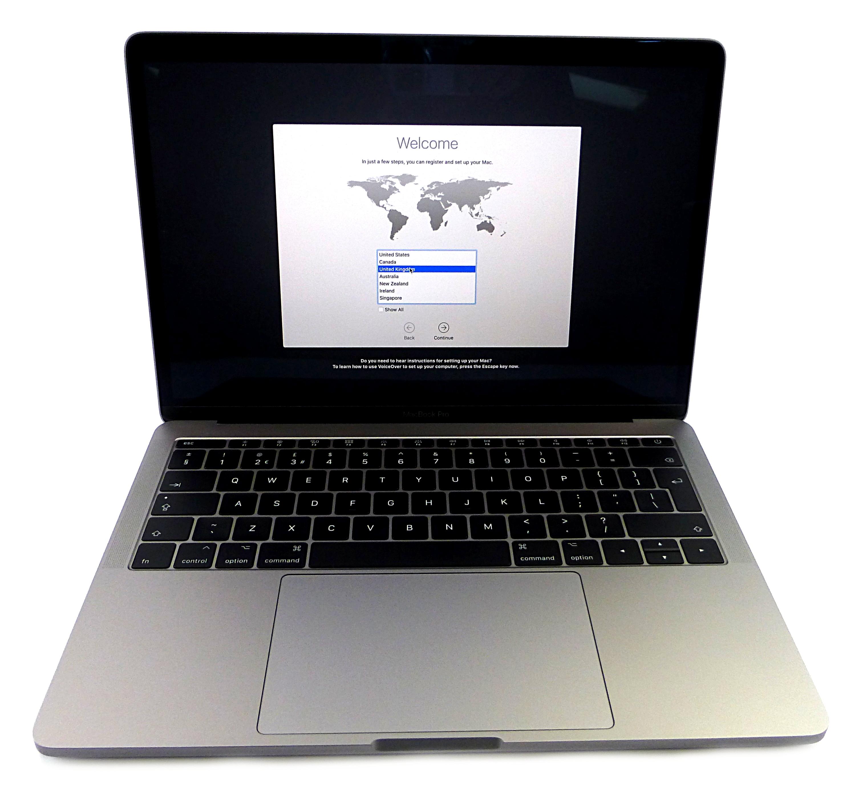 """Apple MacBook Pro 13"""" Mid 2017 Retina i5 2.3GHz 8GB 128GB SSD A1708 EMC 3164"""