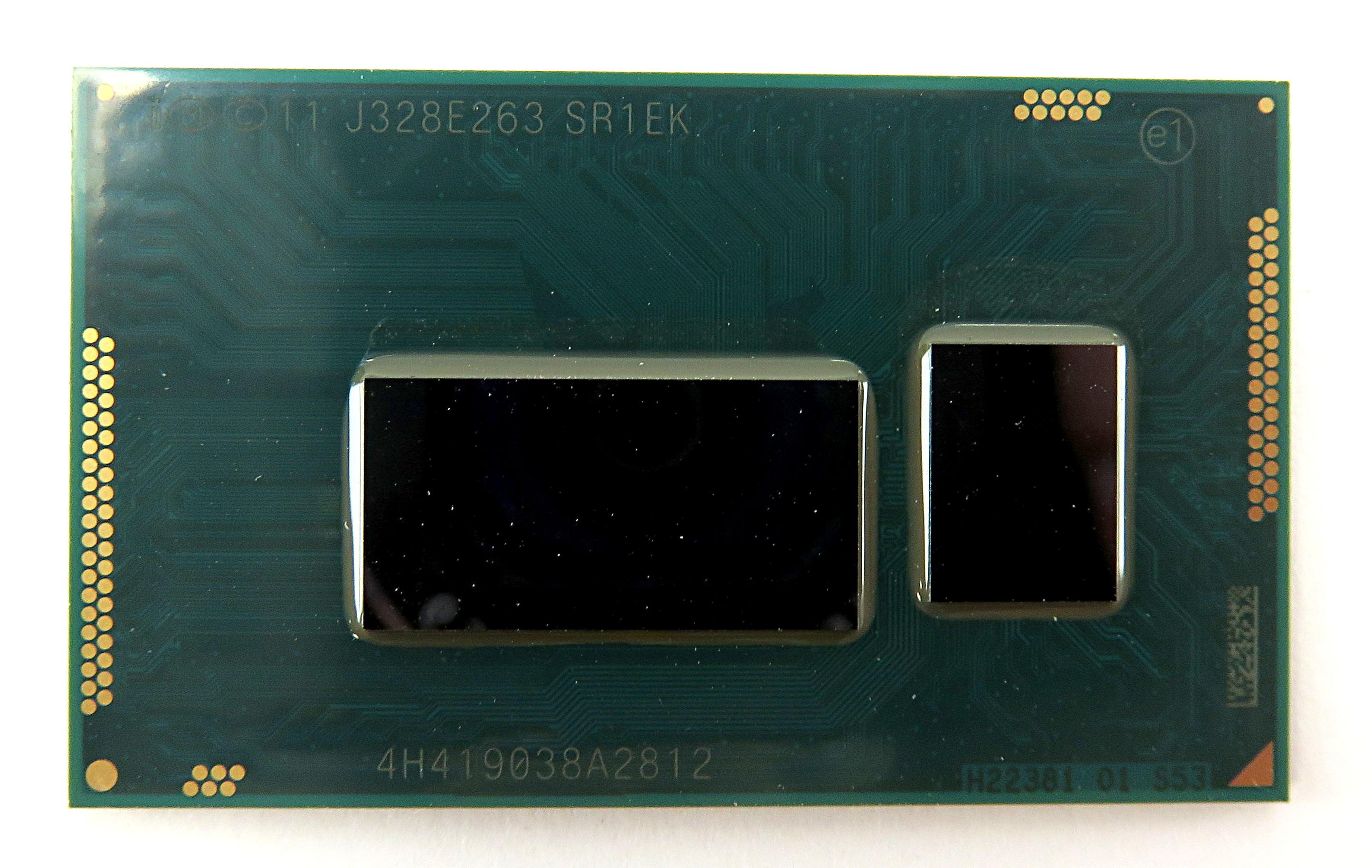 Intel i3-4005U SR1EK Dual-Core 4-Thread 1.7GHz 3MB BGA1168 Mobile Haswell CPU