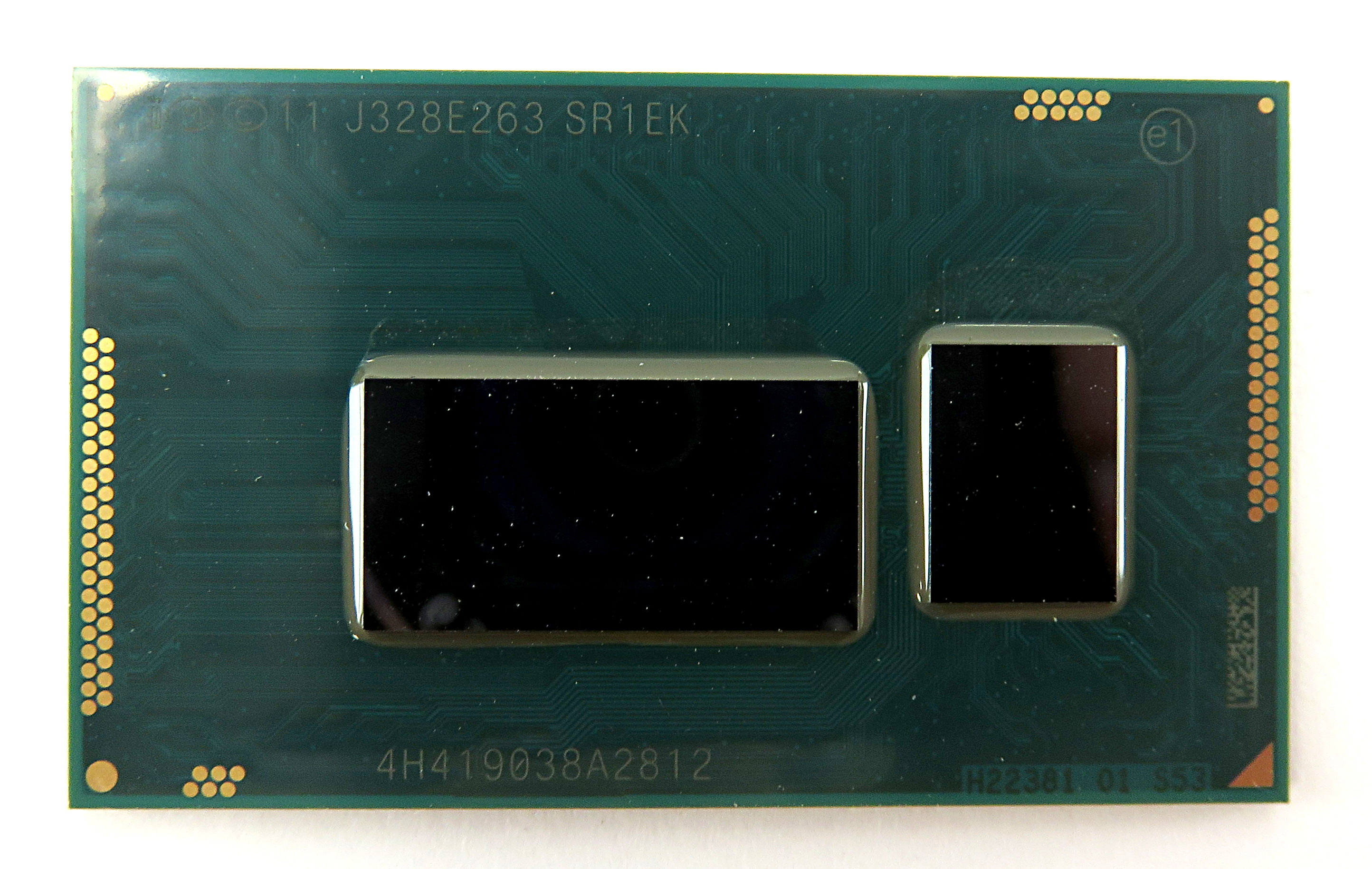 Intel i3-4005U SR1EK Dual-Core 4-Thread 1.7GHz 3MB BGA1168 Mobile Haswell CPU