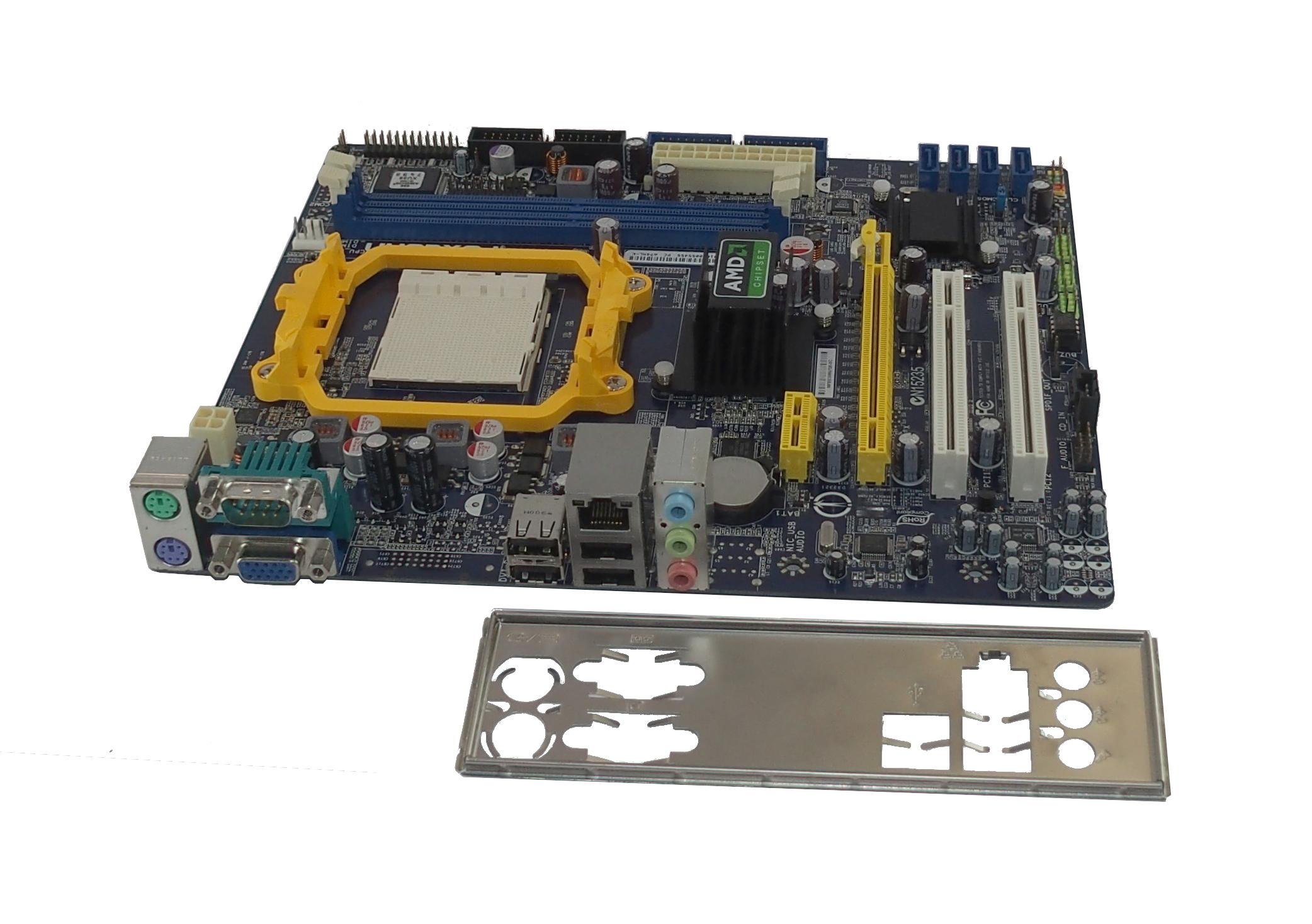 Foxconn A74ML-K AMD Socket AM2 Micro ATX Motherboard(Advent Branded)