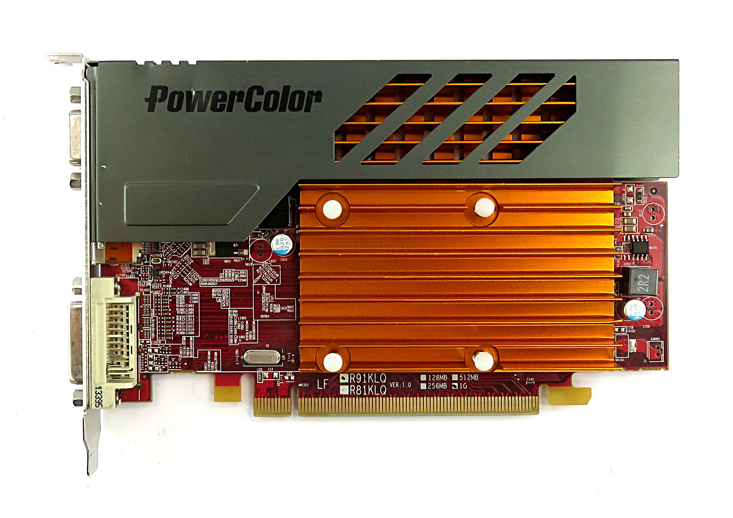 PowerColor Radeon AX6450 1GBK3-SD 1GB DDR3 HDMI/DVI/VGA Silent PCIe Graphic Card