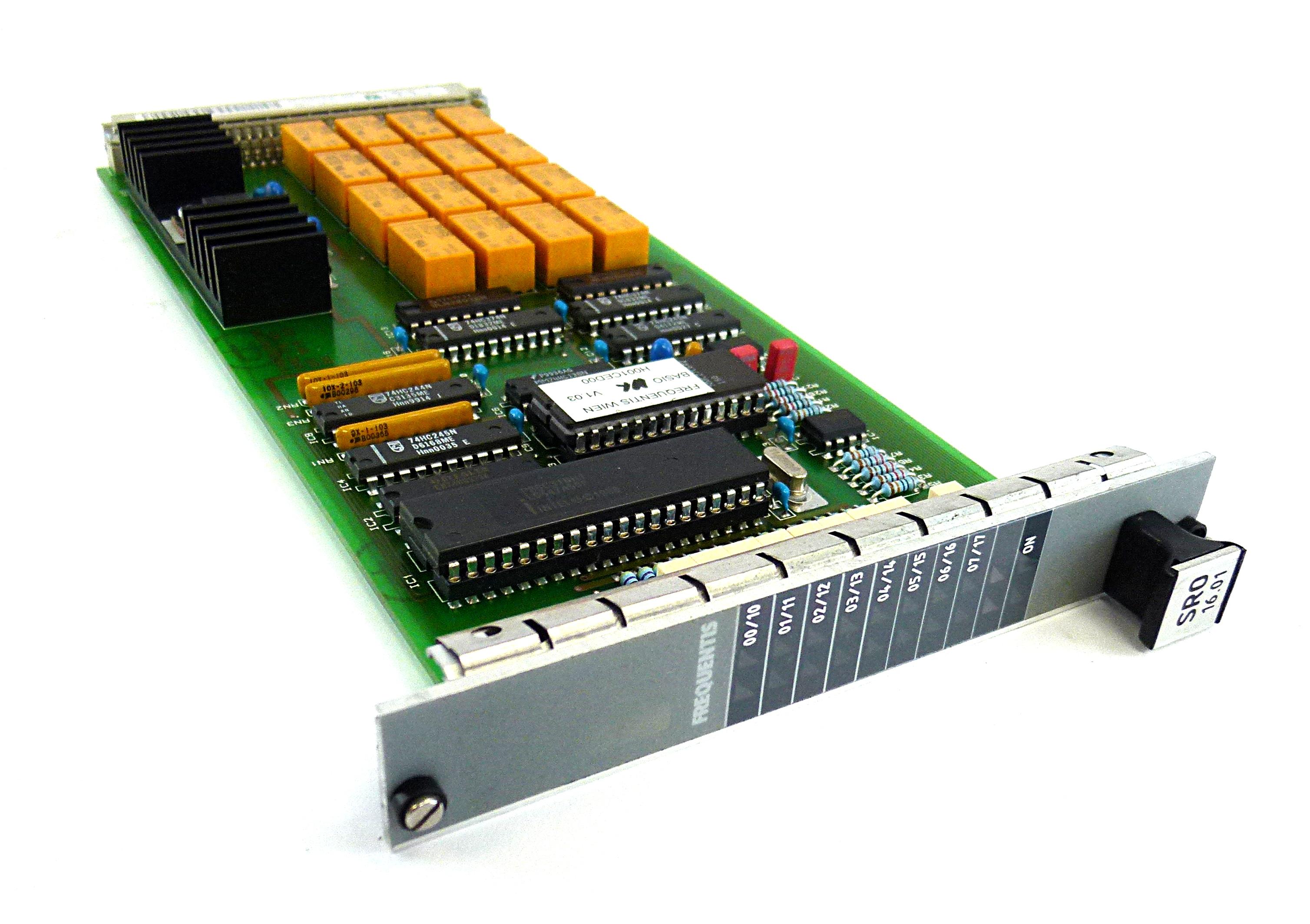 Frequentis SRO 16.01 BGT Data 706619 Communication Module