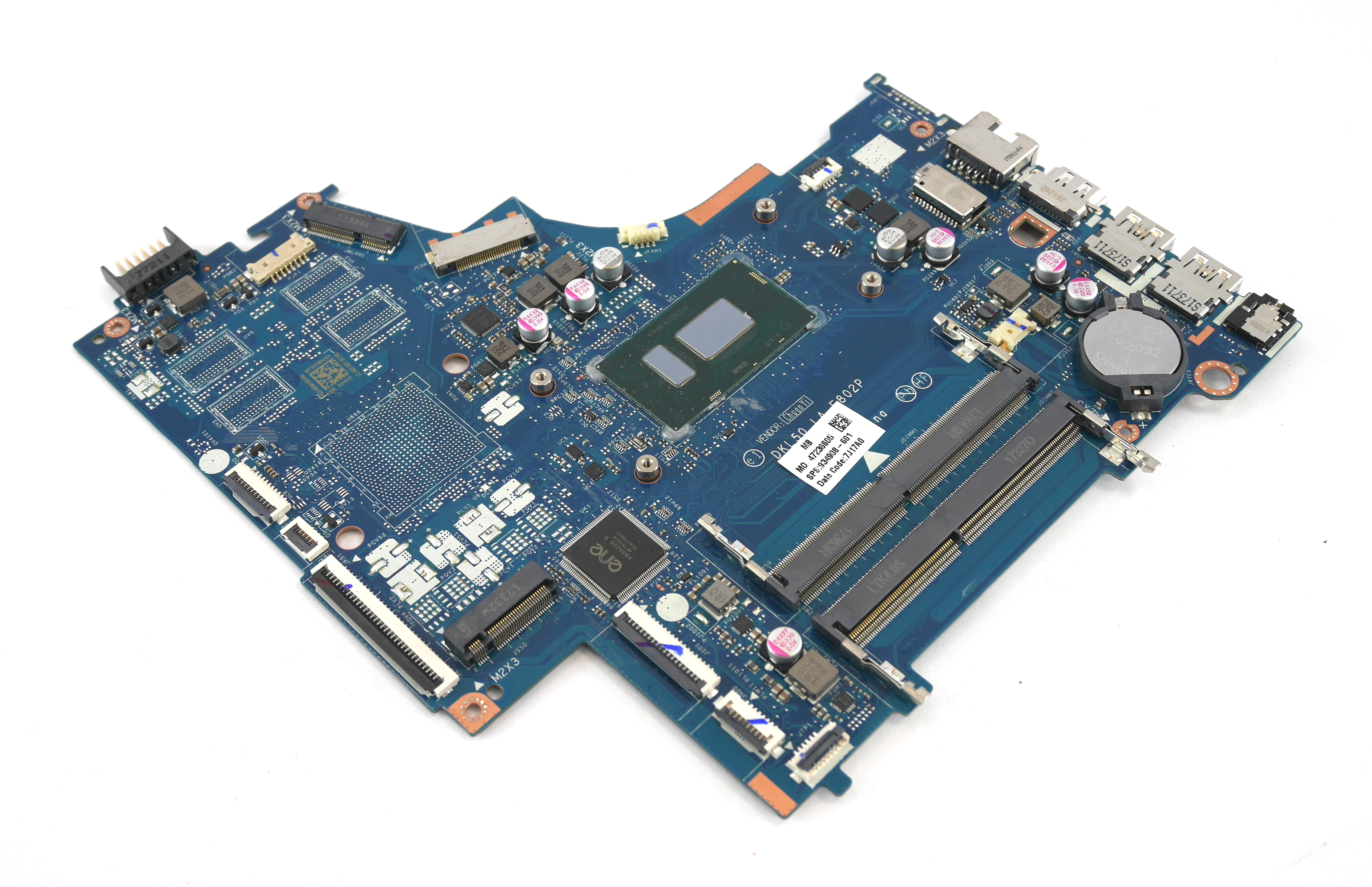 HP 934908-601 Pavilion 15-bs158sa Motherboard with Intel Core i5-8250U Processor