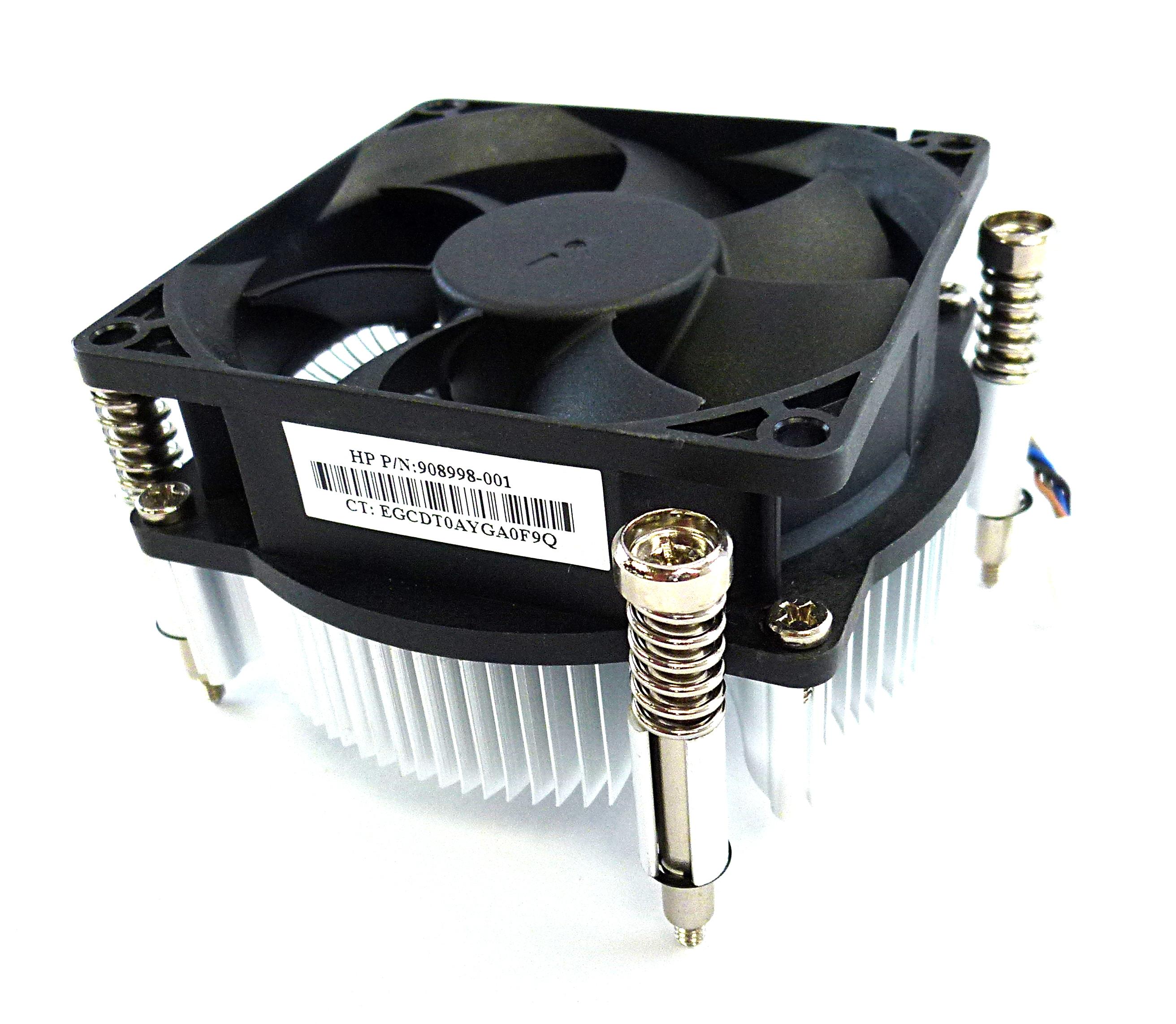 HP 908998-001 ProDesk 400 G4 SSF CPU  Heatsink & Fan