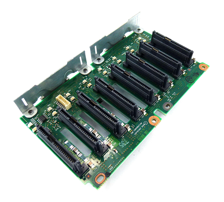 """IBM 94Y6670 X3650 M3  8 x 2.5 """" SAS/ SATA Hard Disk Drive Backplane"""