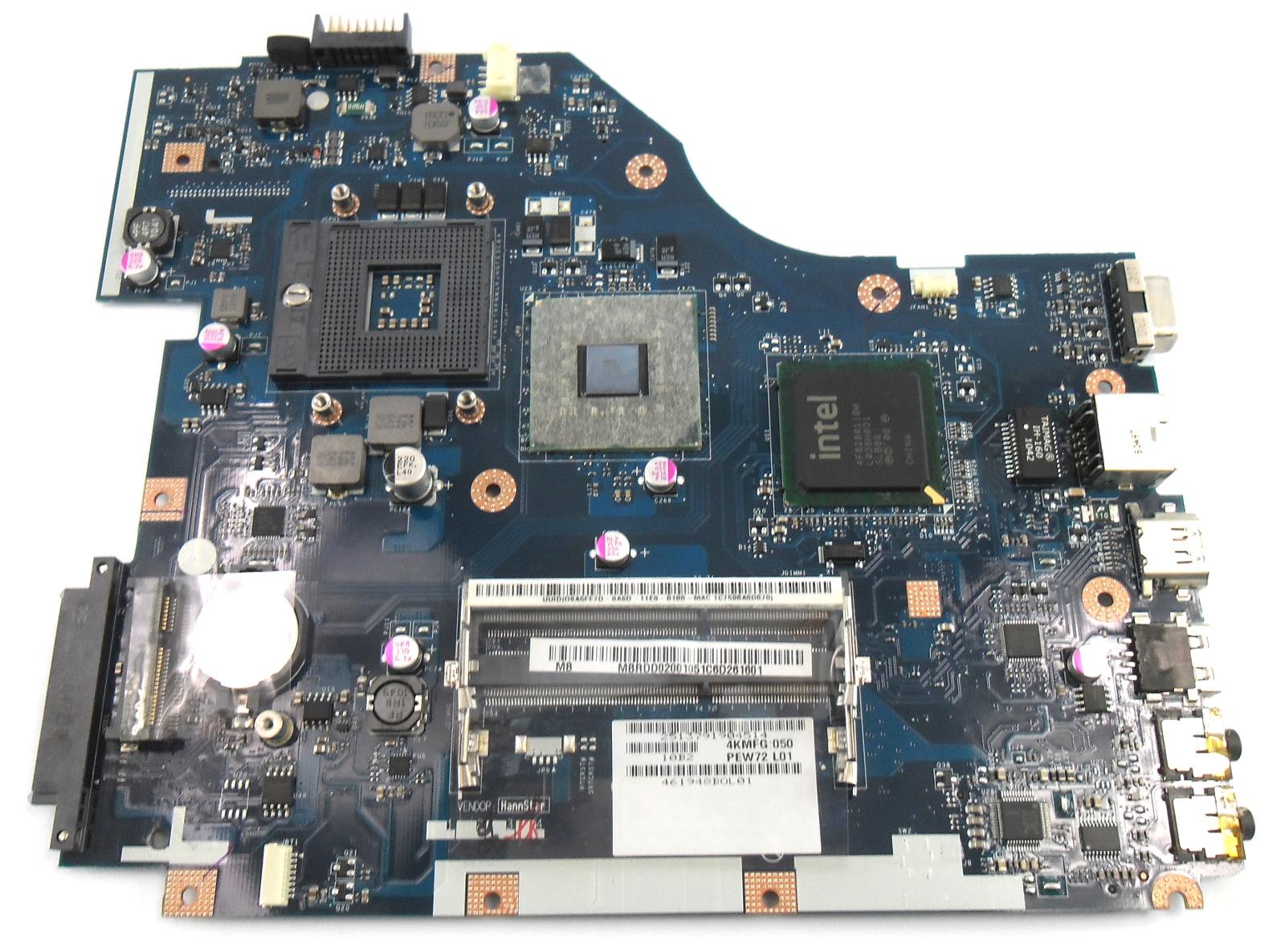 Acer Aspire 5336 5736z MB.RDD02.001 Laptop Motherboard mPGA 478MB
