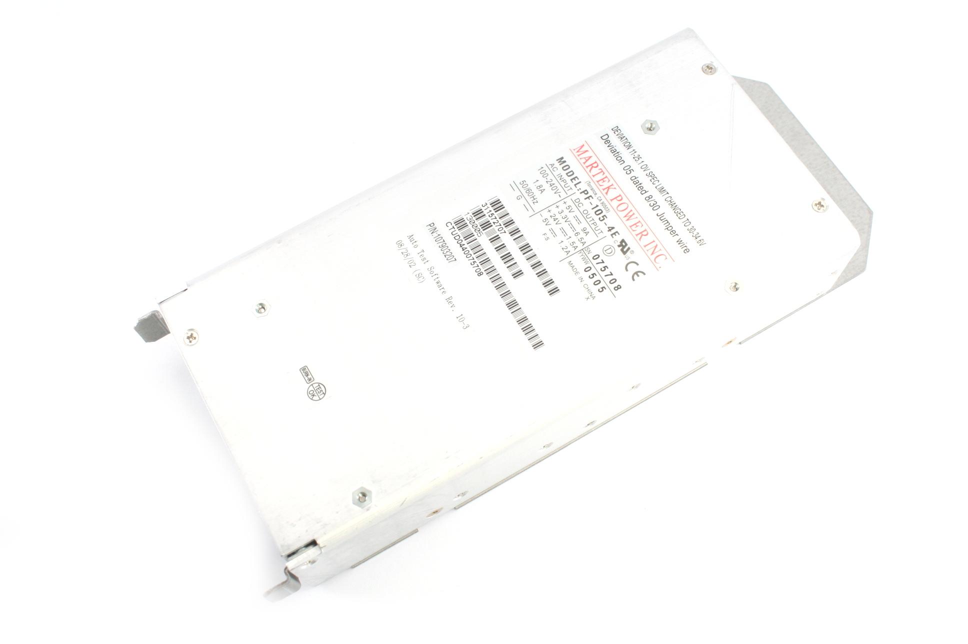 Martek Power Inc. PF-105-4E-YE Power Supply Unit 314343201 107913201