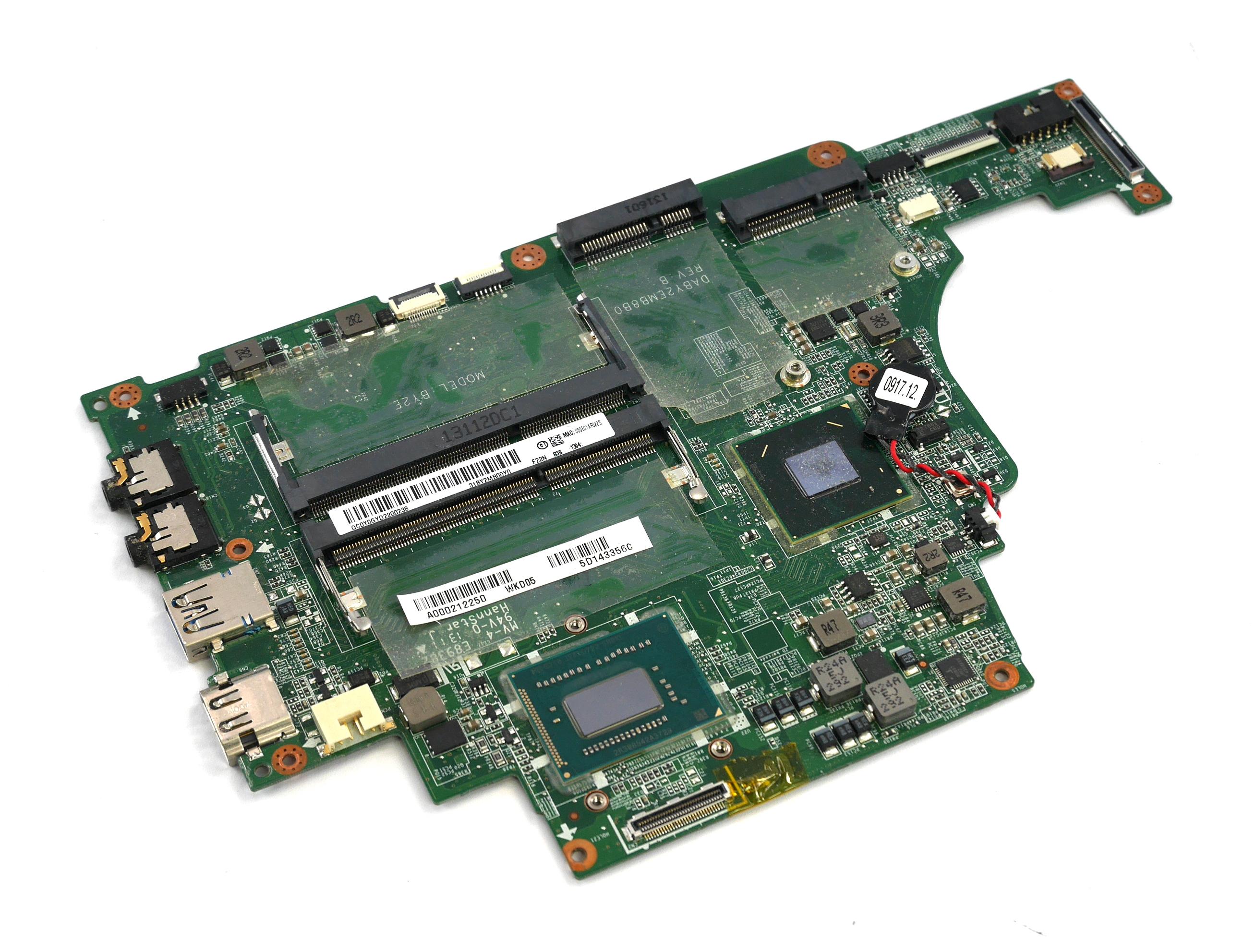 A000212250 Toshiba Satellite U840T-103 Motherboard with Intel i5 -3337U BGA CPU
