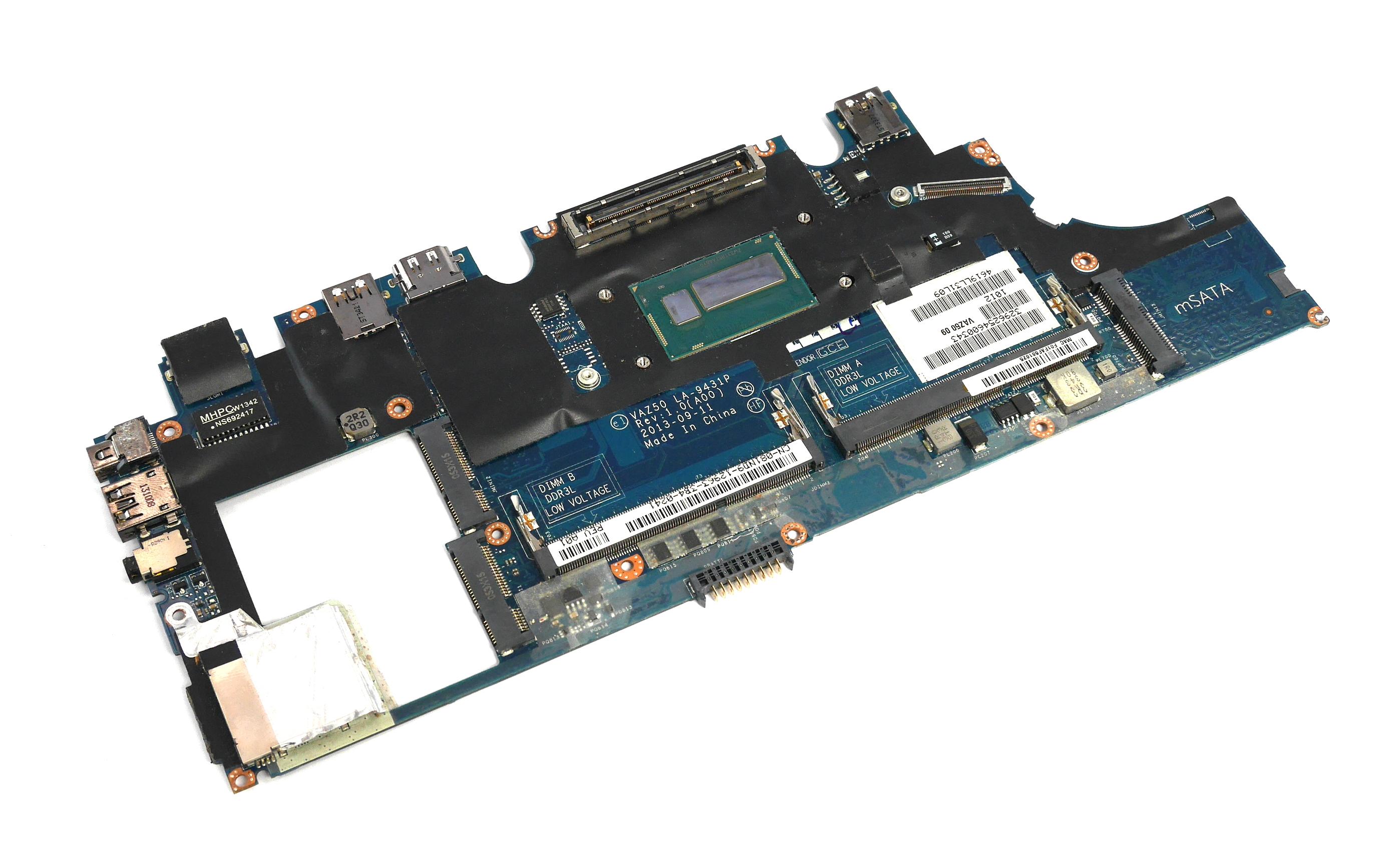 Dell 81ND9 Latitude E7240 Motherboard with BGA Intel Core i5-4200U CPU