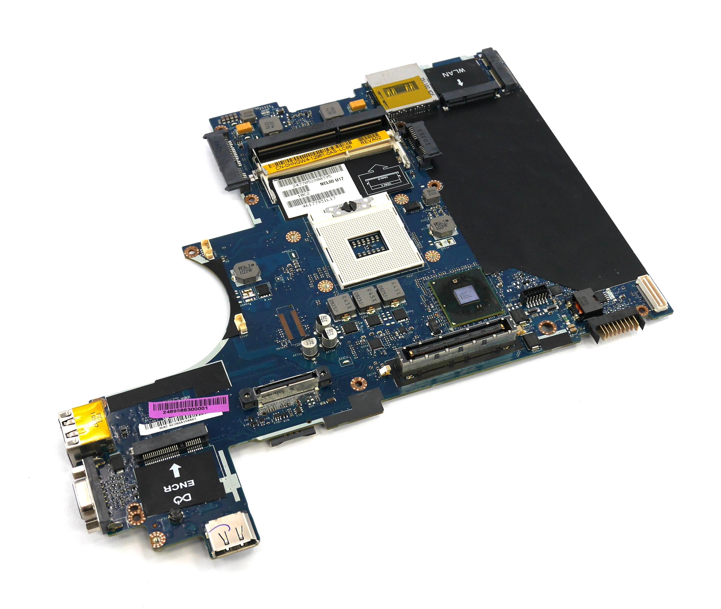 Dell HNGW4 Latitude E6410 rPGA988A Laptop Motherboard