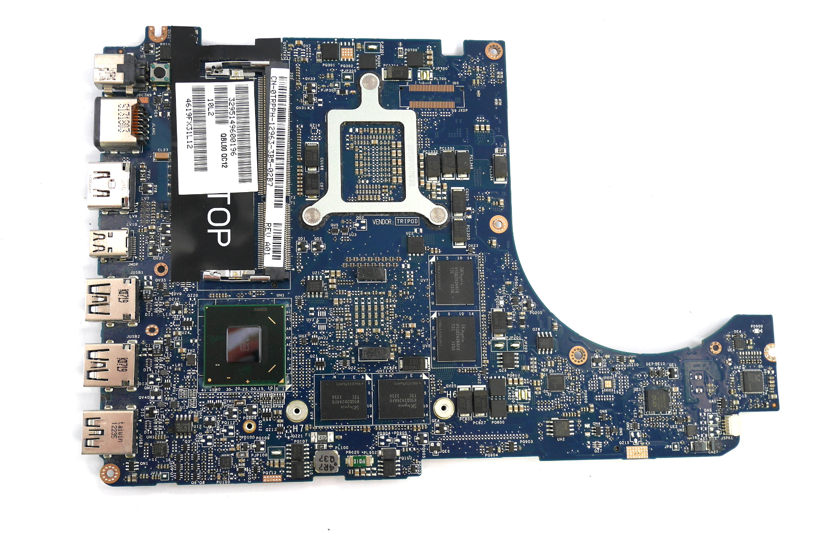 Dell TRPPH XPS 15 L521X Motherboard with BGA Intel Core i7-3632QM