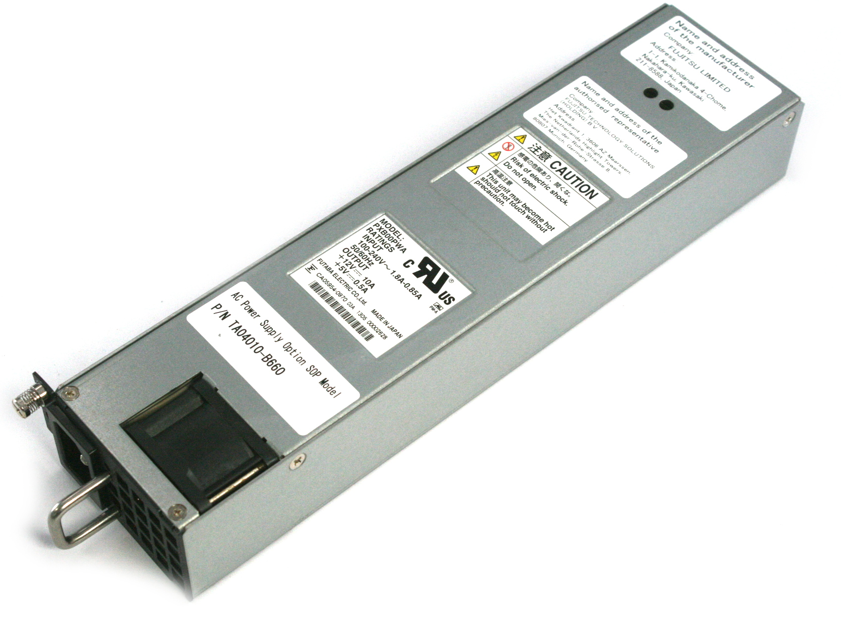 Fujitsu TA04010-B660 Server AC Power Supply Model:PXB00PWA