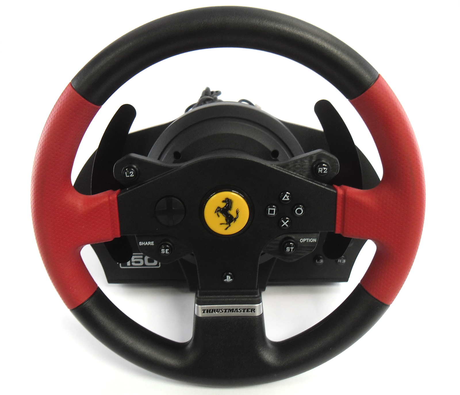 Thrustmaster T150 Force Feedback Wheel Ferrari Edition /w Pedals /f PS3 PS4  PC