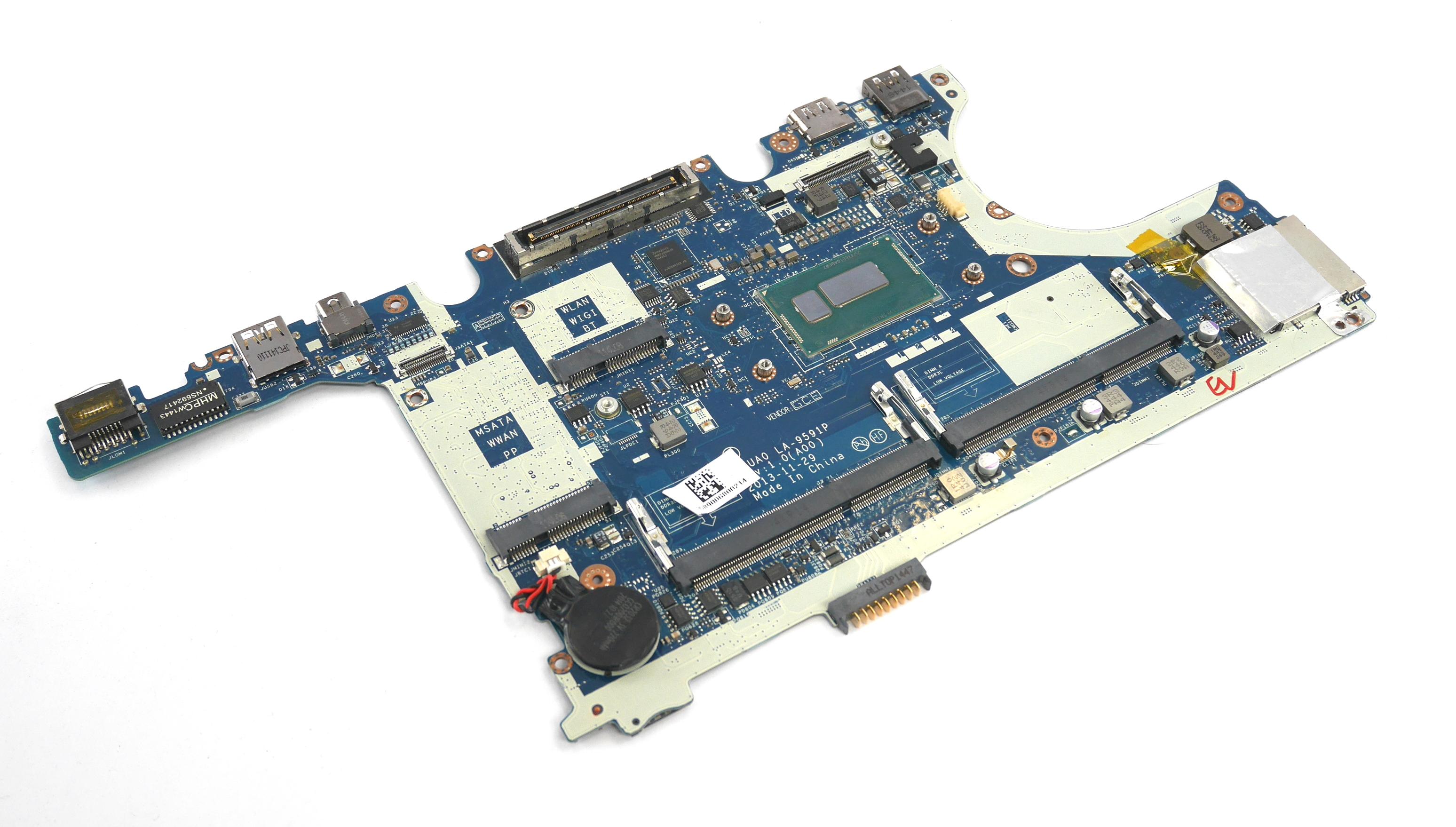 Dell P9C43 Latitude E7440 Motherboard with Intel Core i5-4310U Processor